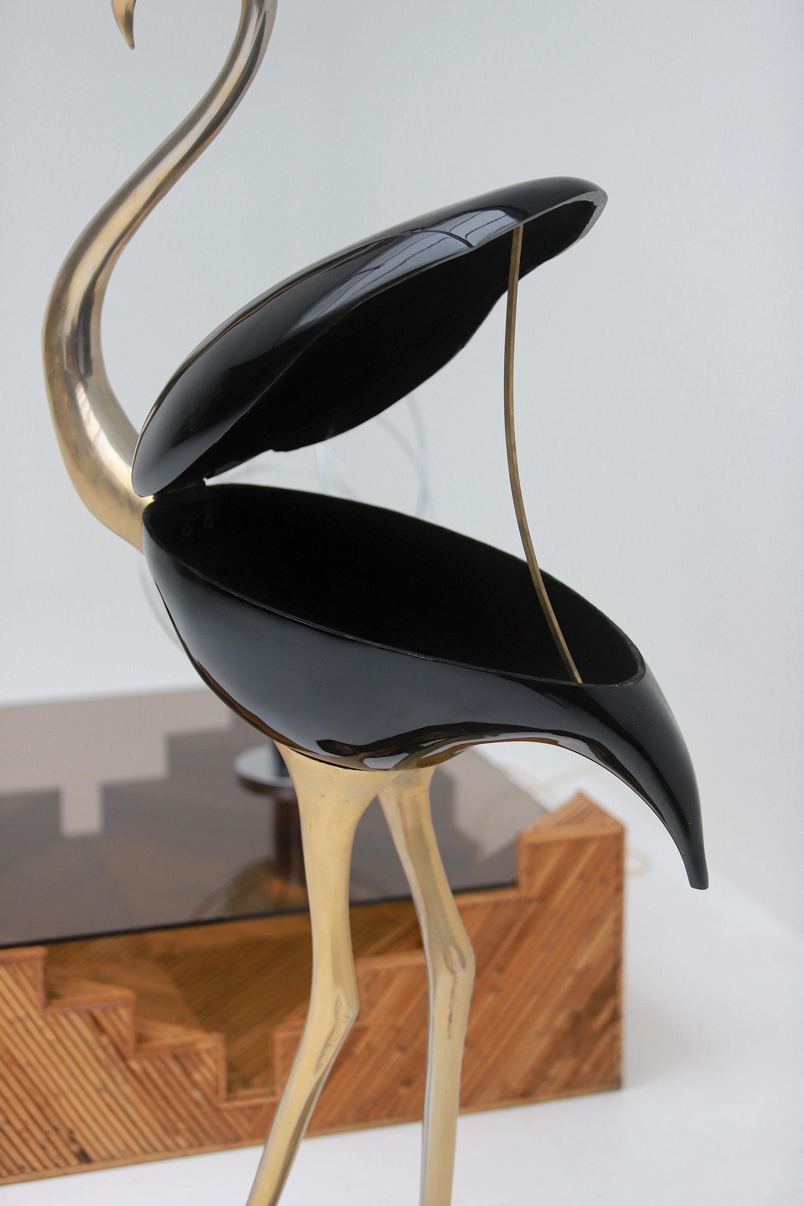 Fondica Lifesize Brass Flamingo 1970simage 6