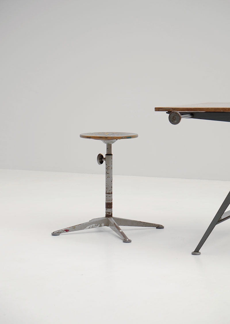 Wim Rietveld & Friso Kramer Reply Drafting Table