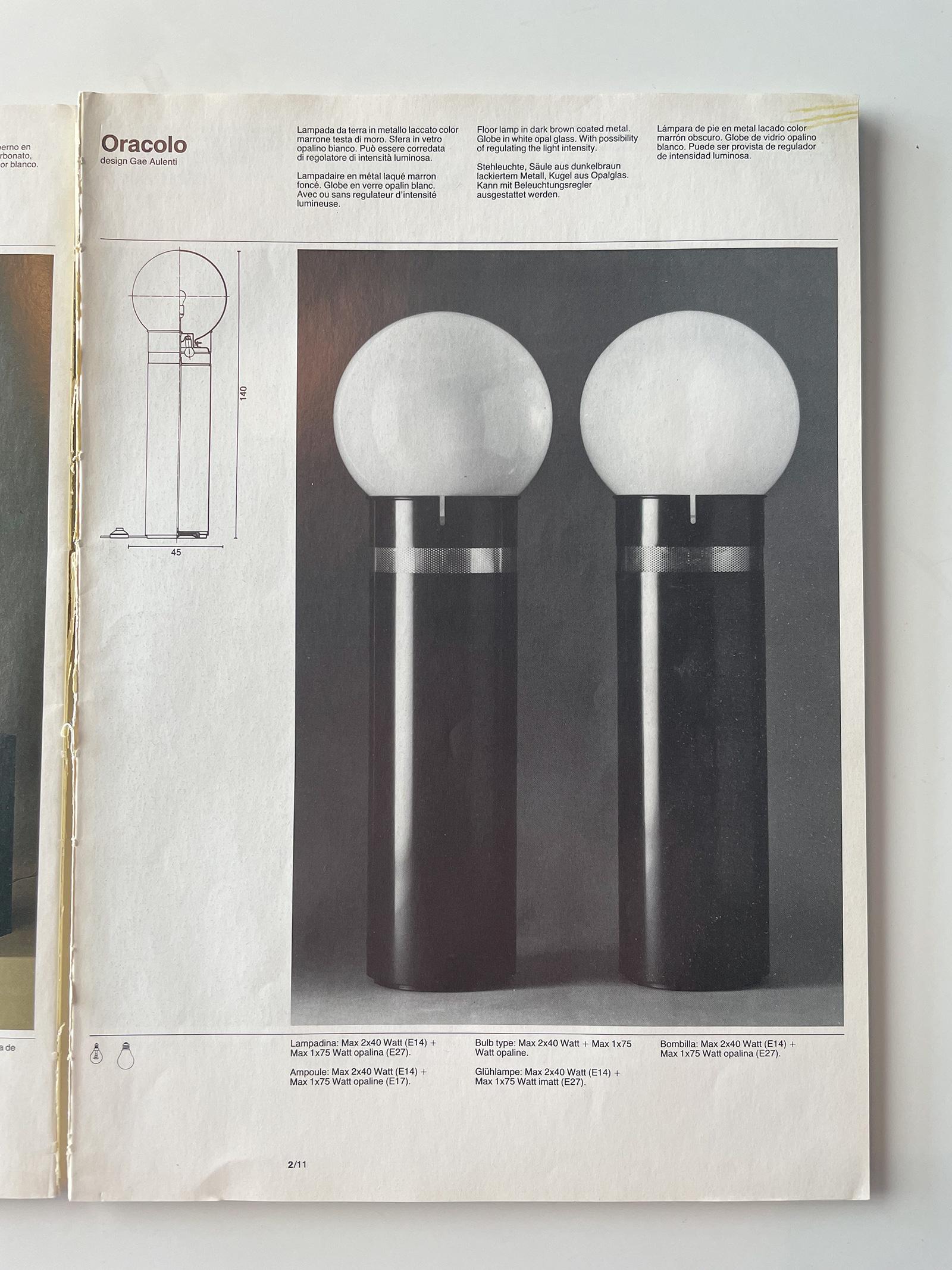 Gae Aulenti Oracle floor lamp for Artemideimage 6