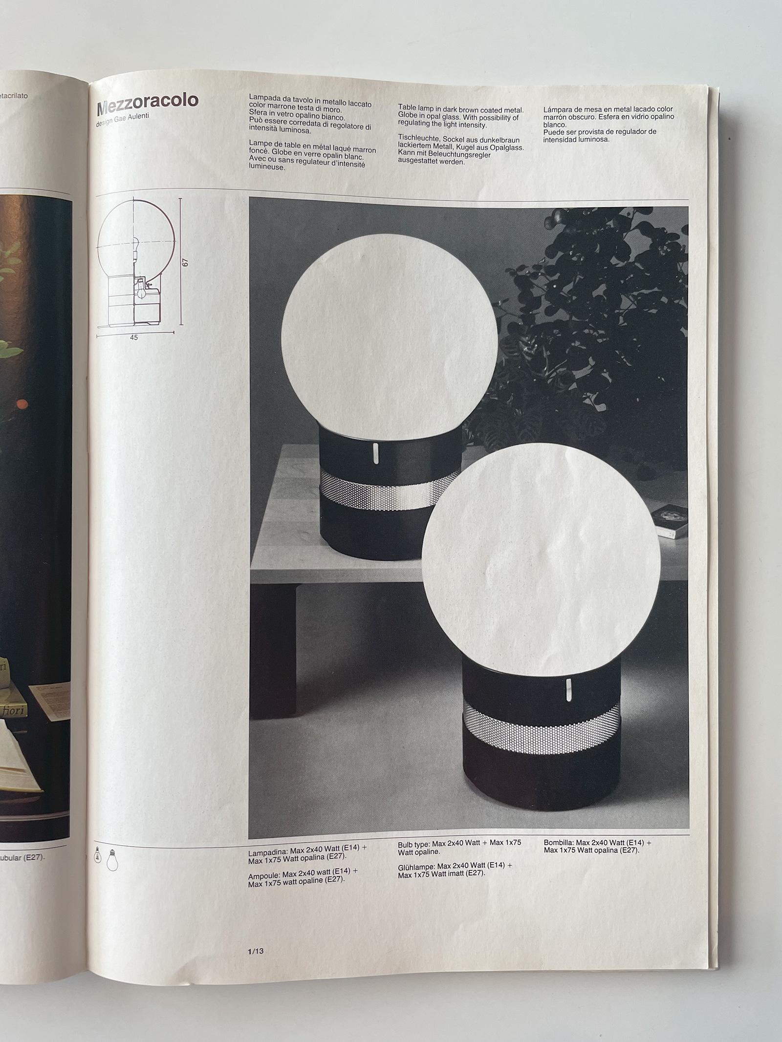 Gae Aulenti Mezzoracolo table lamp for Artemideimage 7