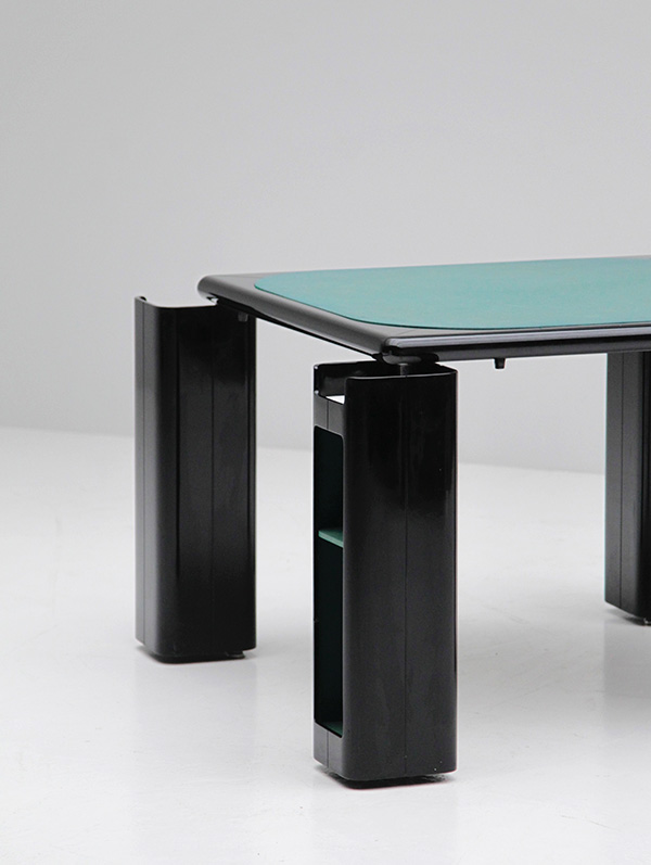 Gaming table in black lacquered wood   image 5