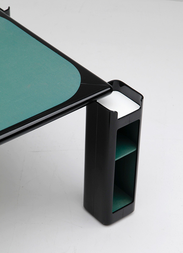 Gaming table in black lacquered wood   image 7
