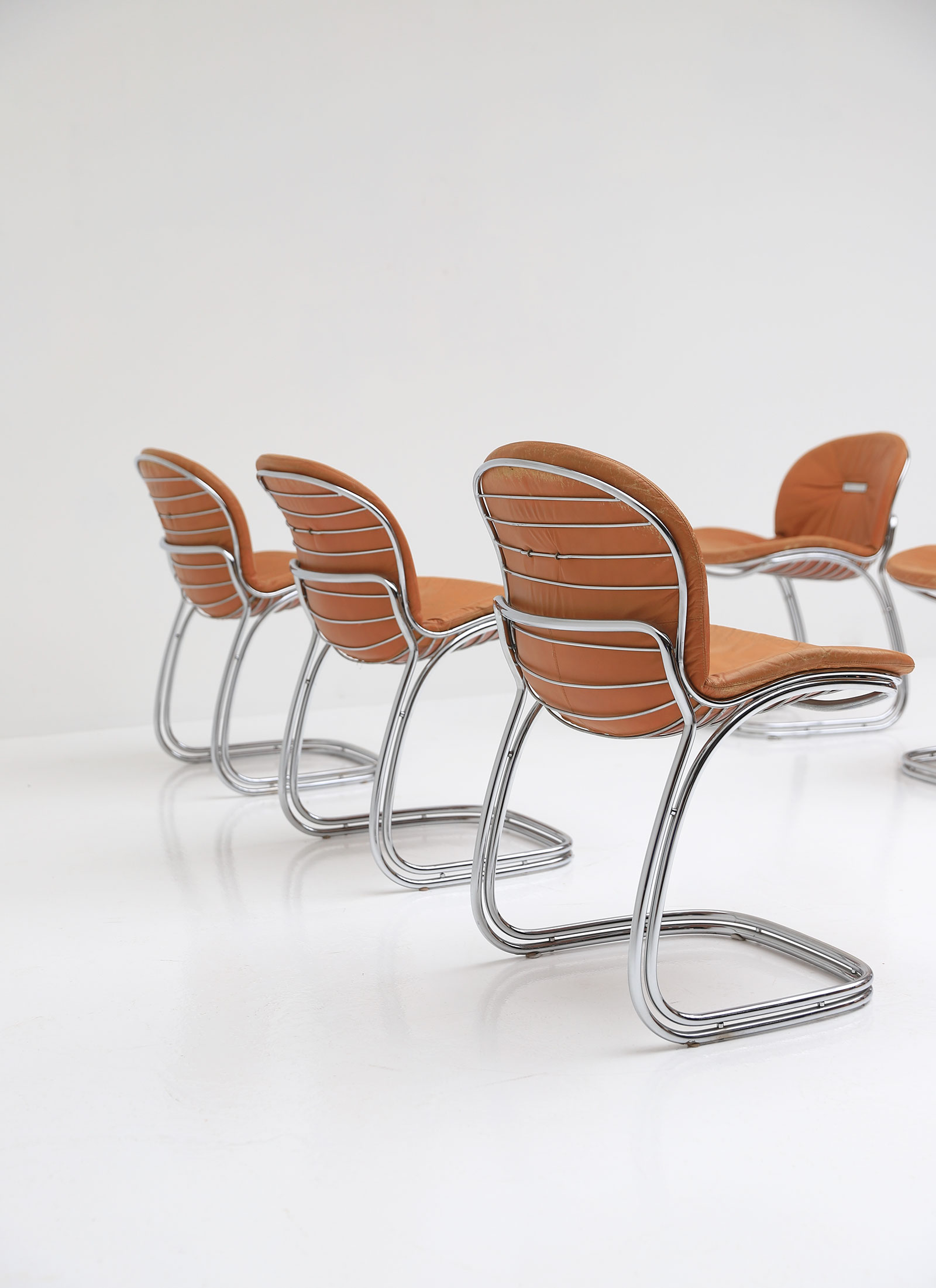 Gastone Rinaldi Sabrina Cantilevered Chairs