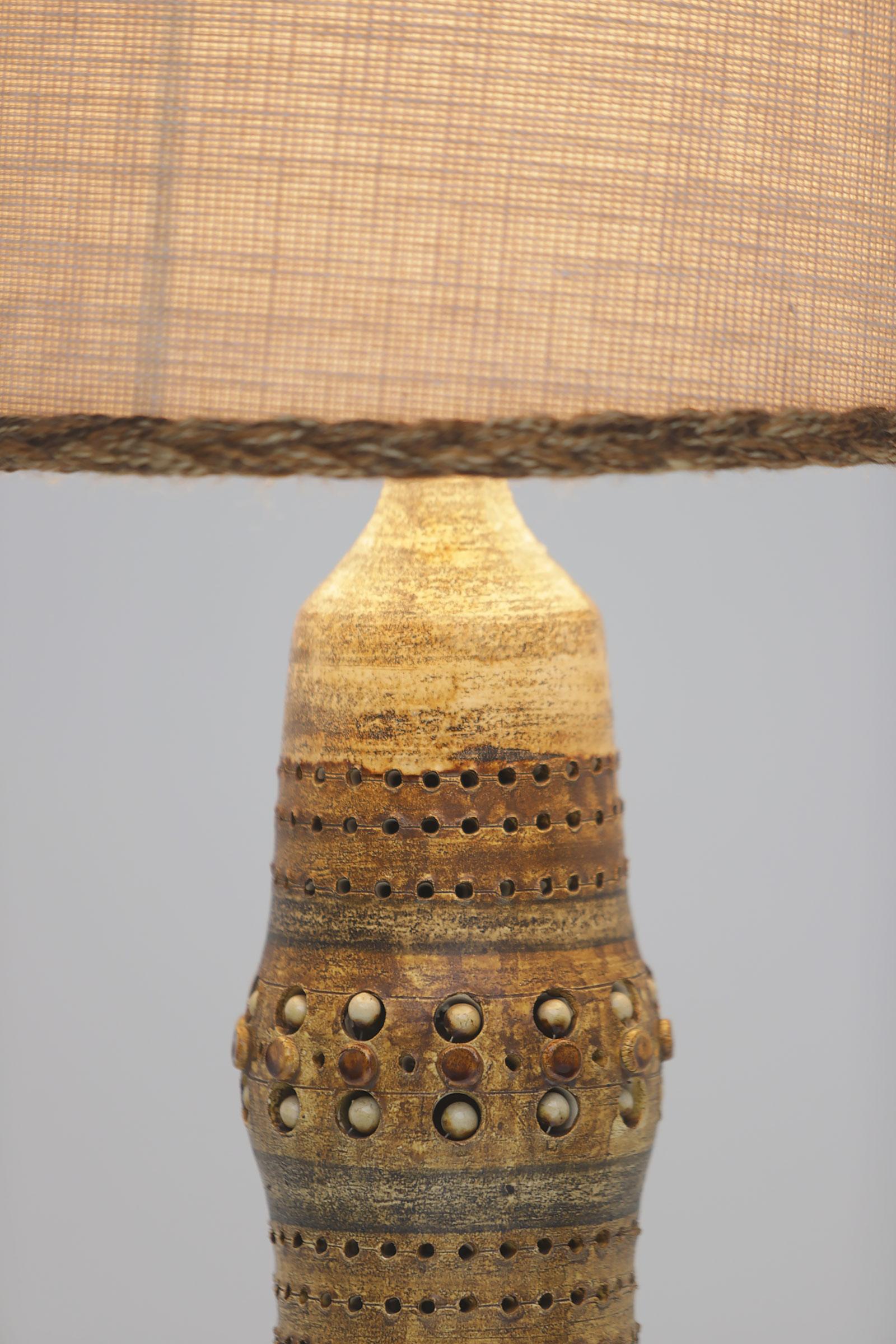 Georges Pelletier Ceramic Table Lamp