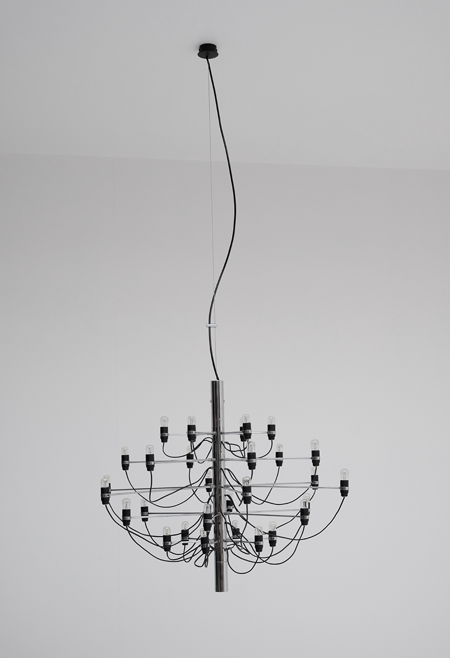 Gino Sarfatti Chandelier for Arteluceimage 1