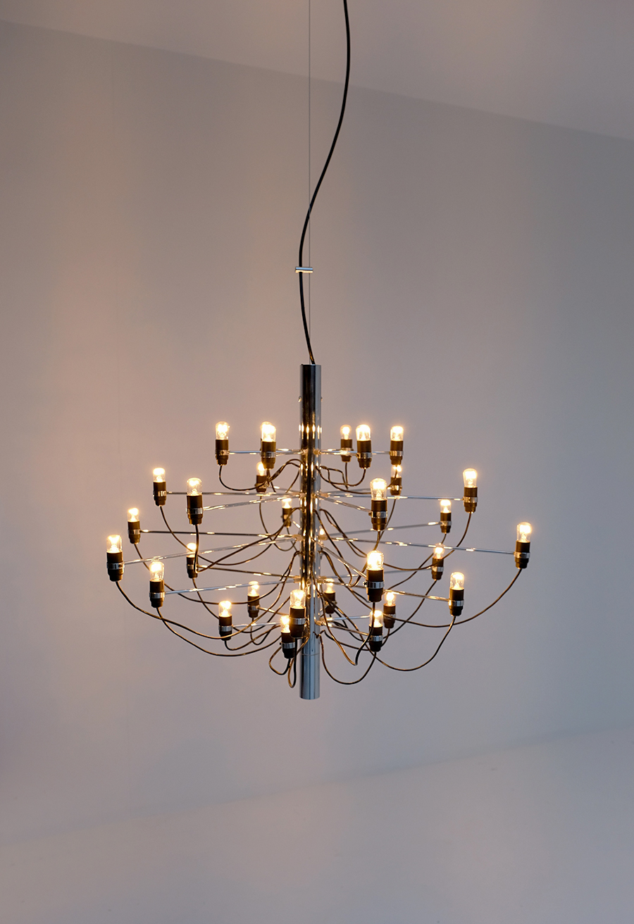 Gino Sarfatti Chandelier for Arteluceimage 6