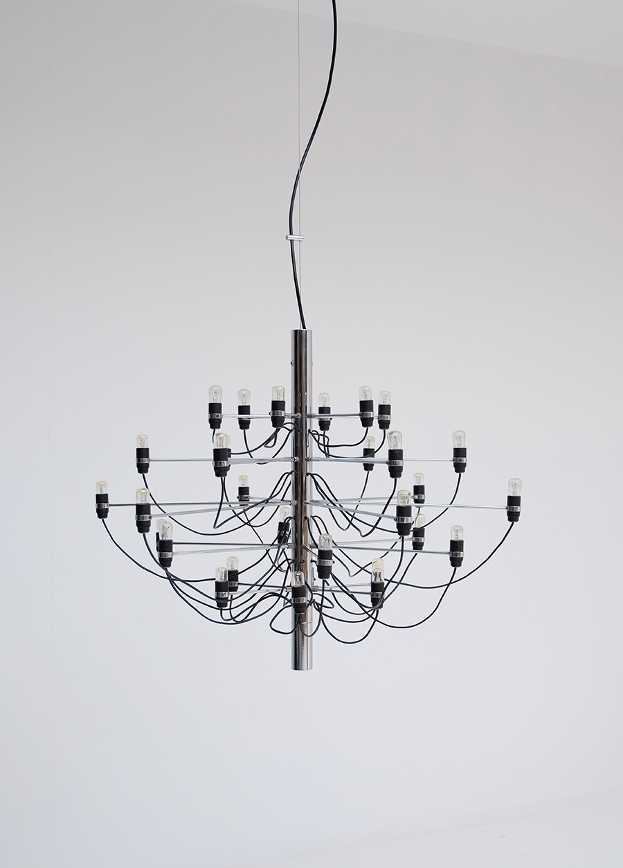 Gino Sarfatti Chandelier for Arteluceimage 2