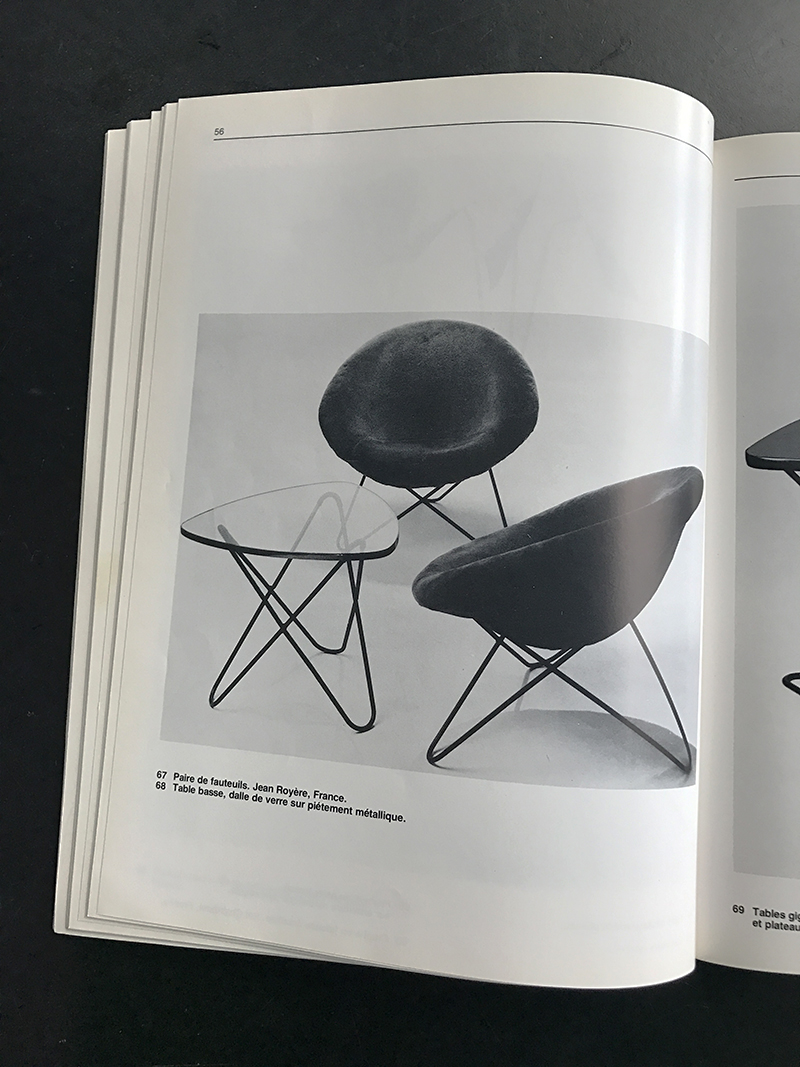 1950s Hairpin Side Chair Jean Royereimage 7