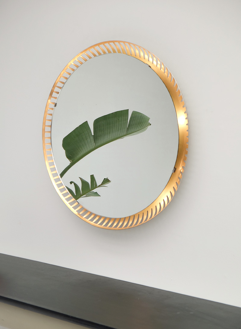 Two round Backlit mirrors image 5