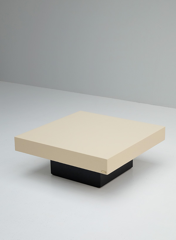 Jean-Charles, coffee table,creme