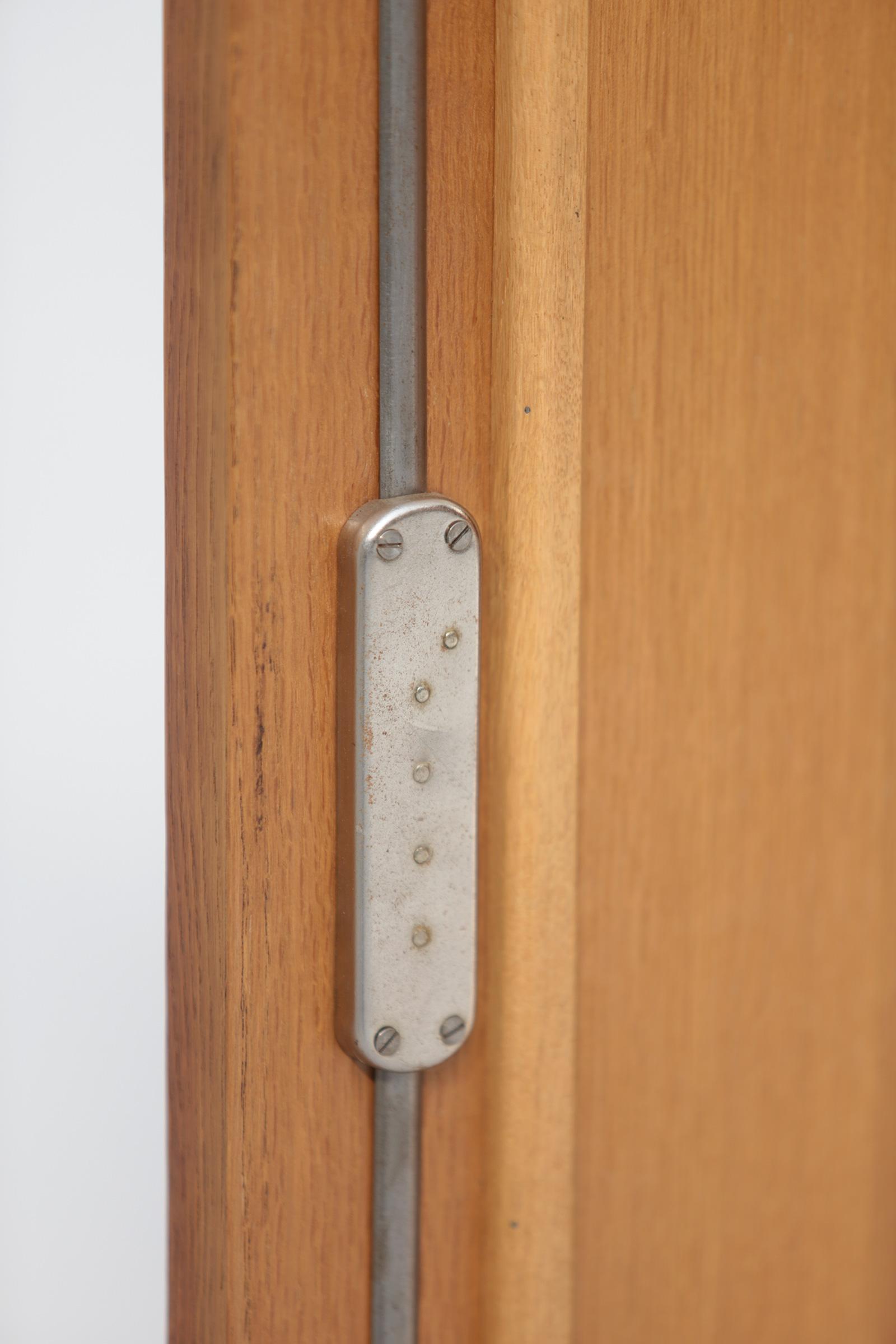1950s Oak sideboard Free form Shaped Doors image 21