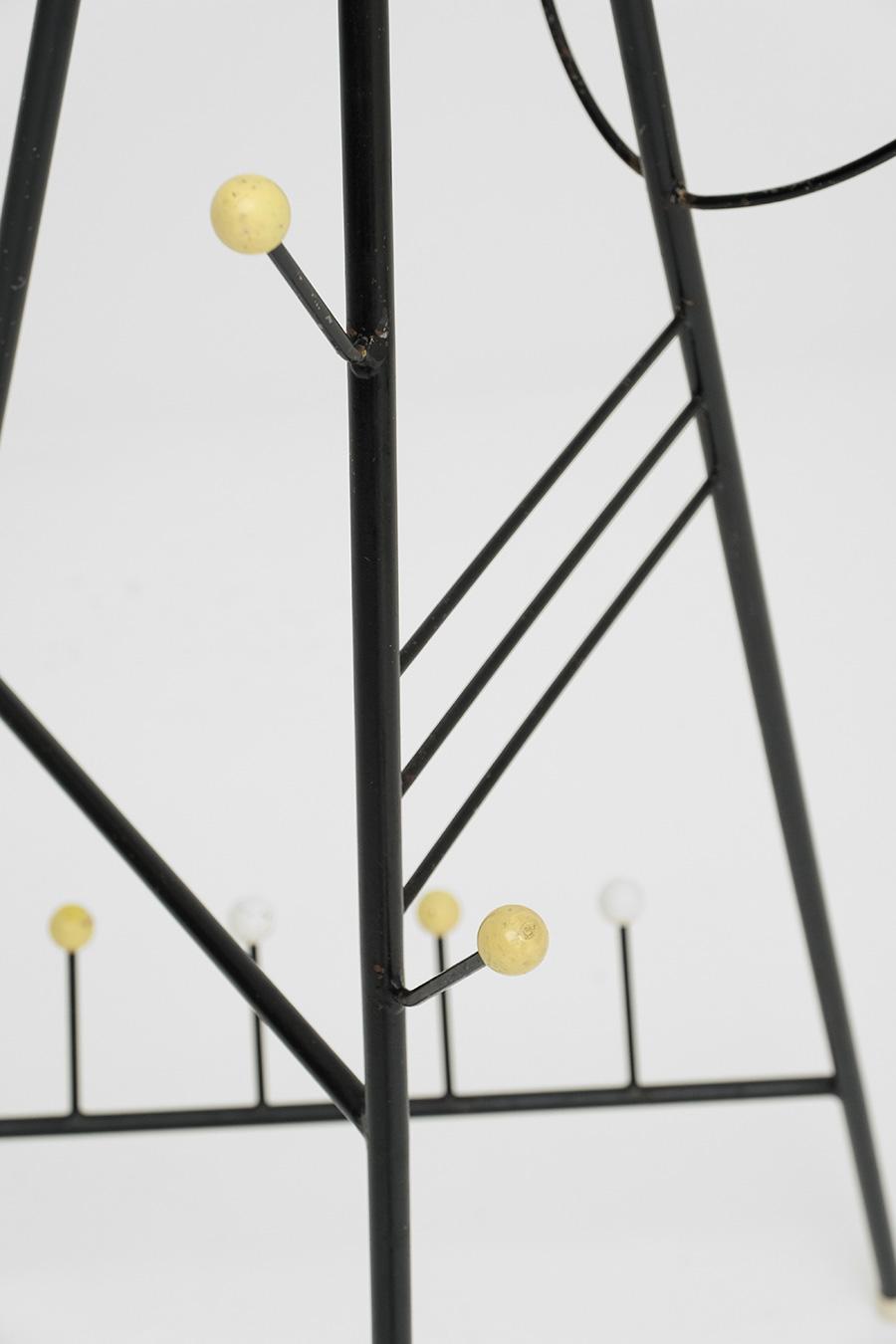 Joan Miro inspired atomic coat standimage 8