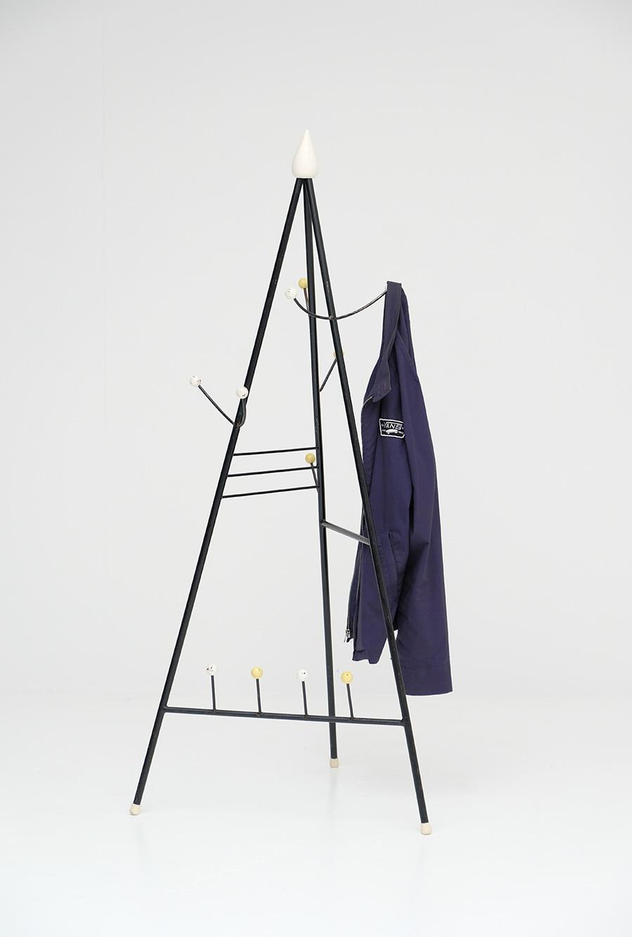 Joan Miro inspired atomic coat standimage 1