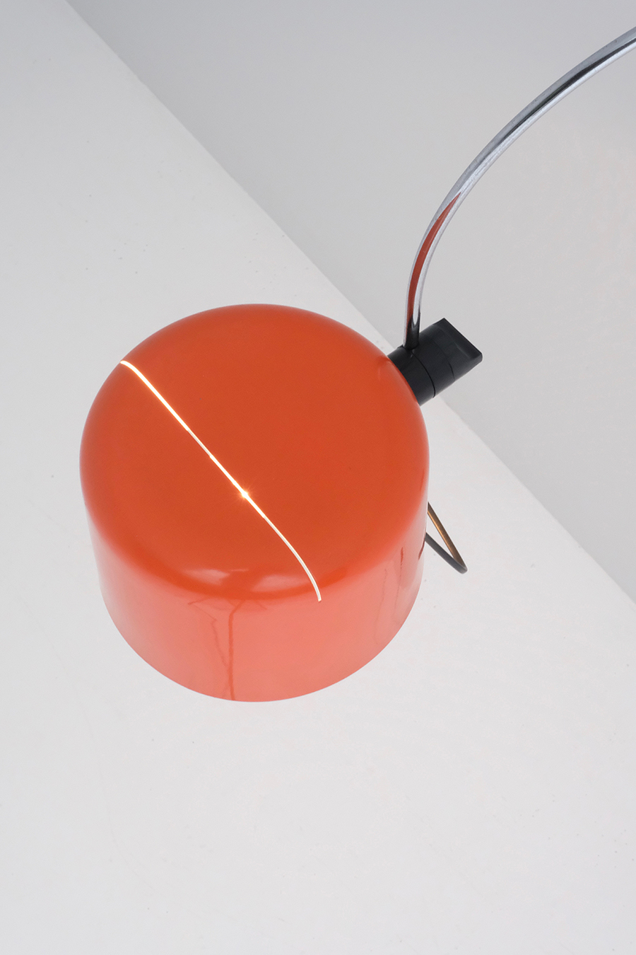 JOE COLOMBO FOR OLUCE COUPE WALL LAMPimage 5