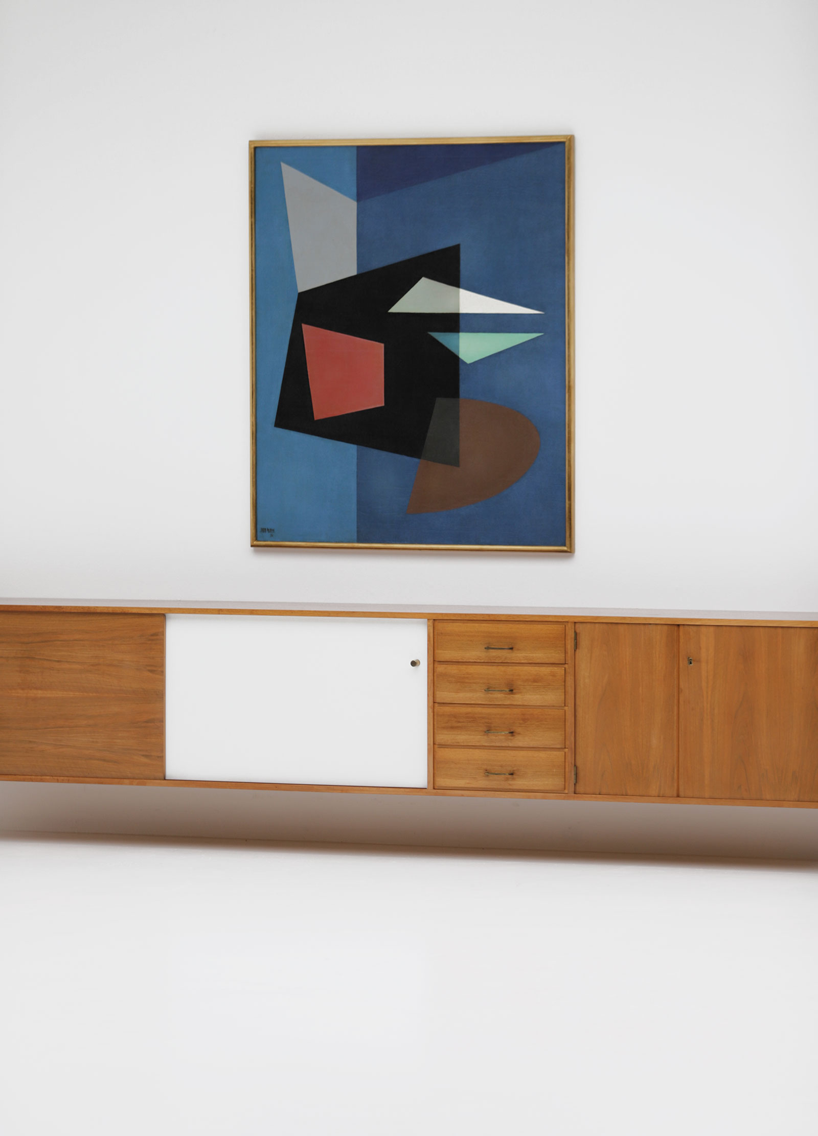Jos De Mey Floating Sideboard image 2