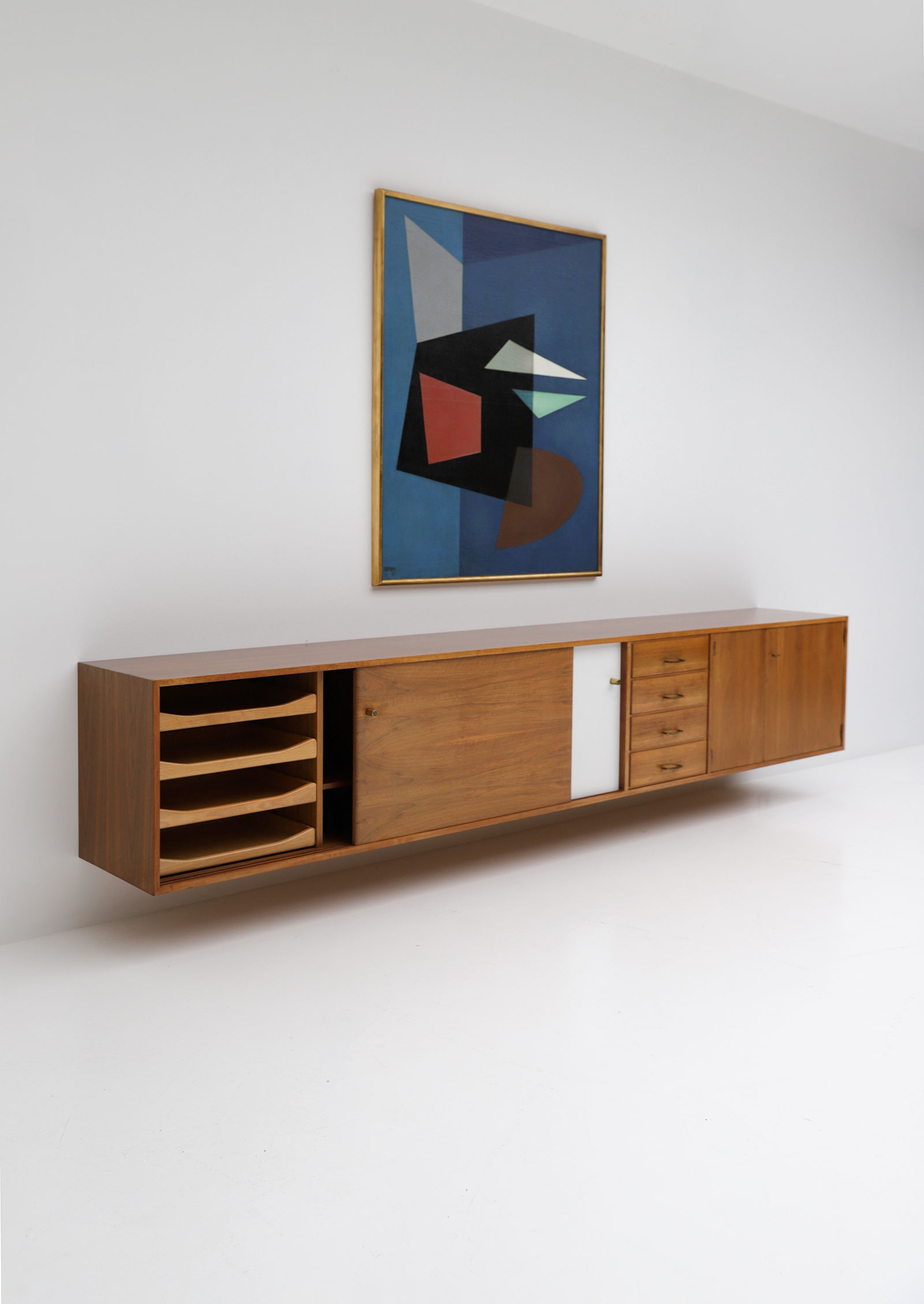 Jos De Mey Floating Sideboard image 7