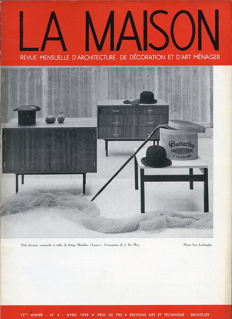 Luxus Sideboard by Jos De Mey 1950simage 17