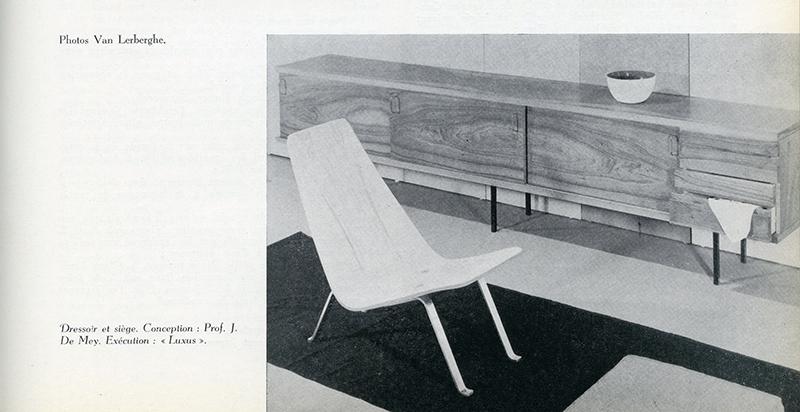 Luxus Sideboard by Jos De Mey 1950simage 12