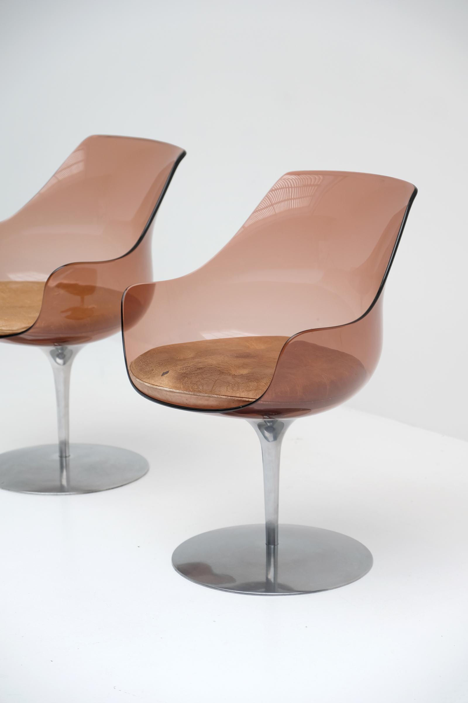 Laverne Champagne Chairs Formes Nouvellesimage 3