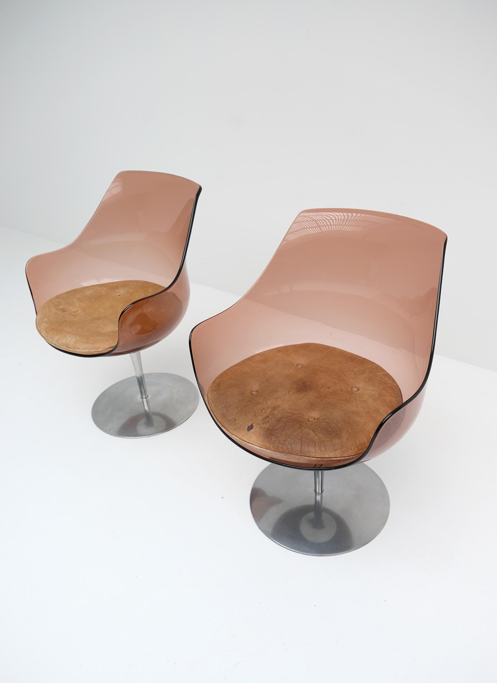 Laverne Champagne Chairs Formes Nouvellesimage 4