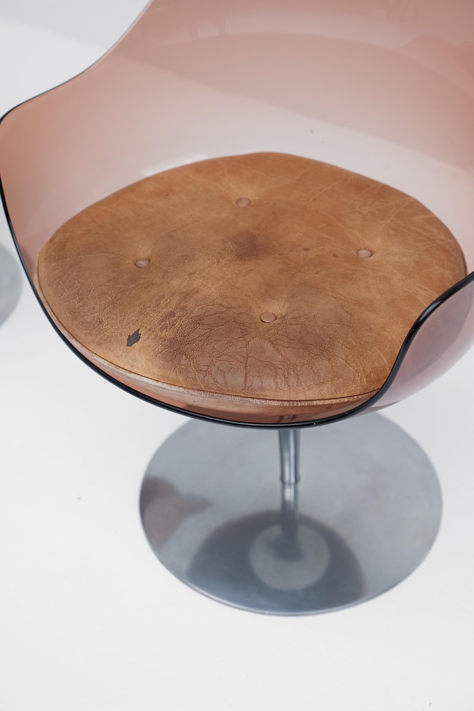 Laverne Champagne Chairs Formes Nouvellesimage 5