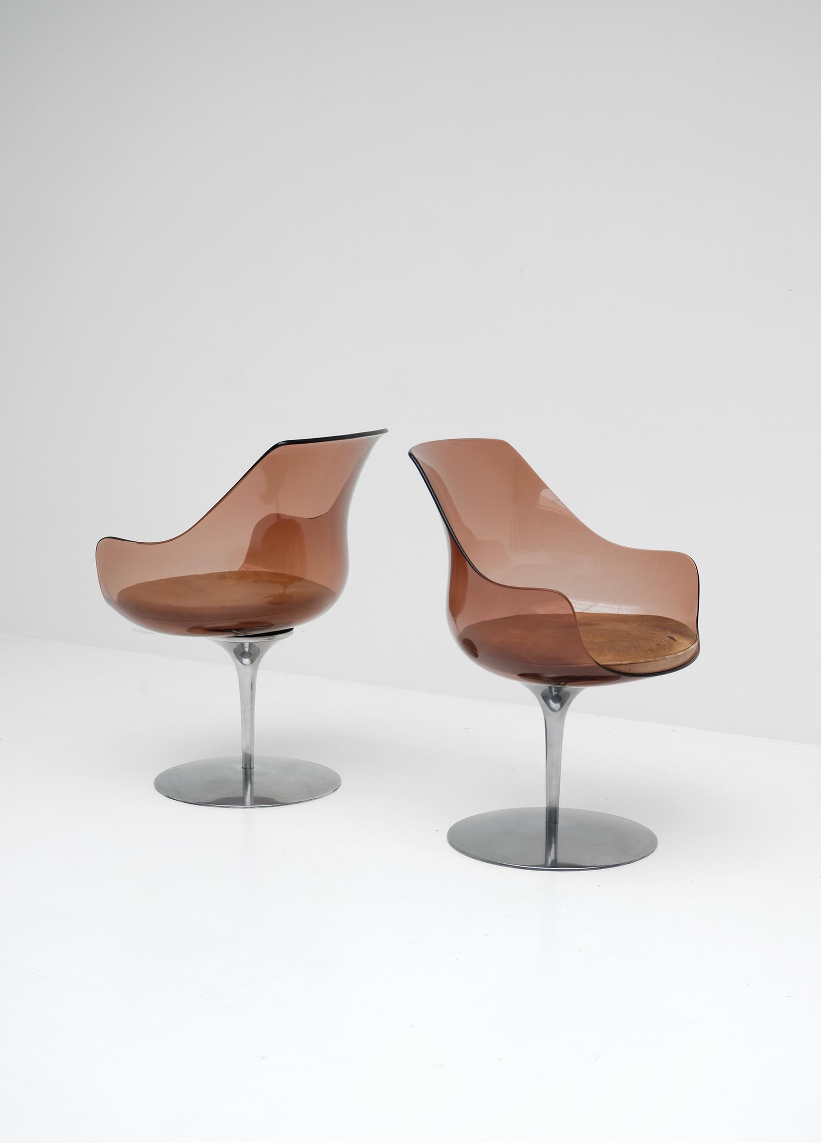 Laverne Champagne Chairs Formes Nouvellesimage 7