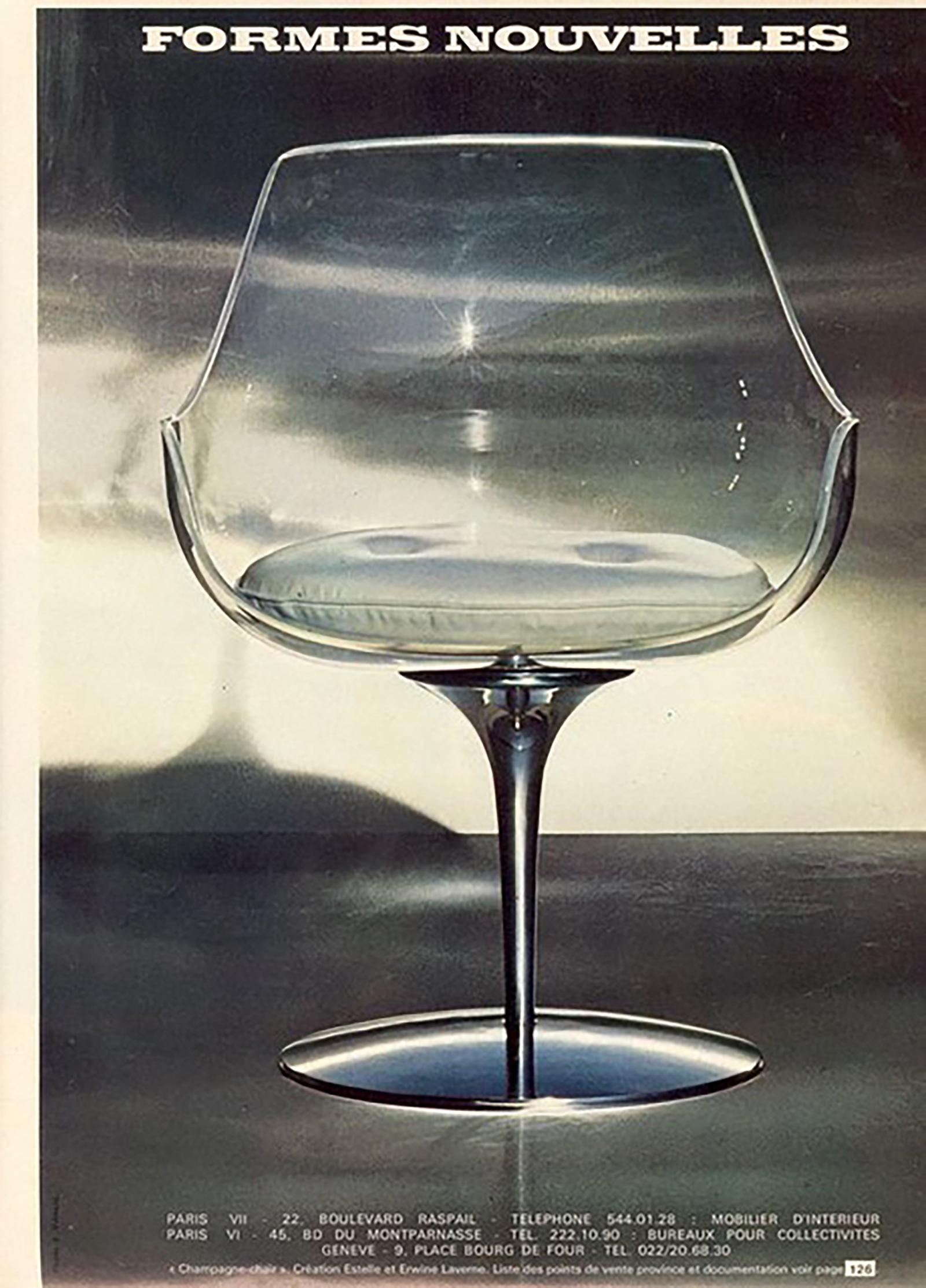 Laverne Champagne Chairs Formes Nouvellesimage 9