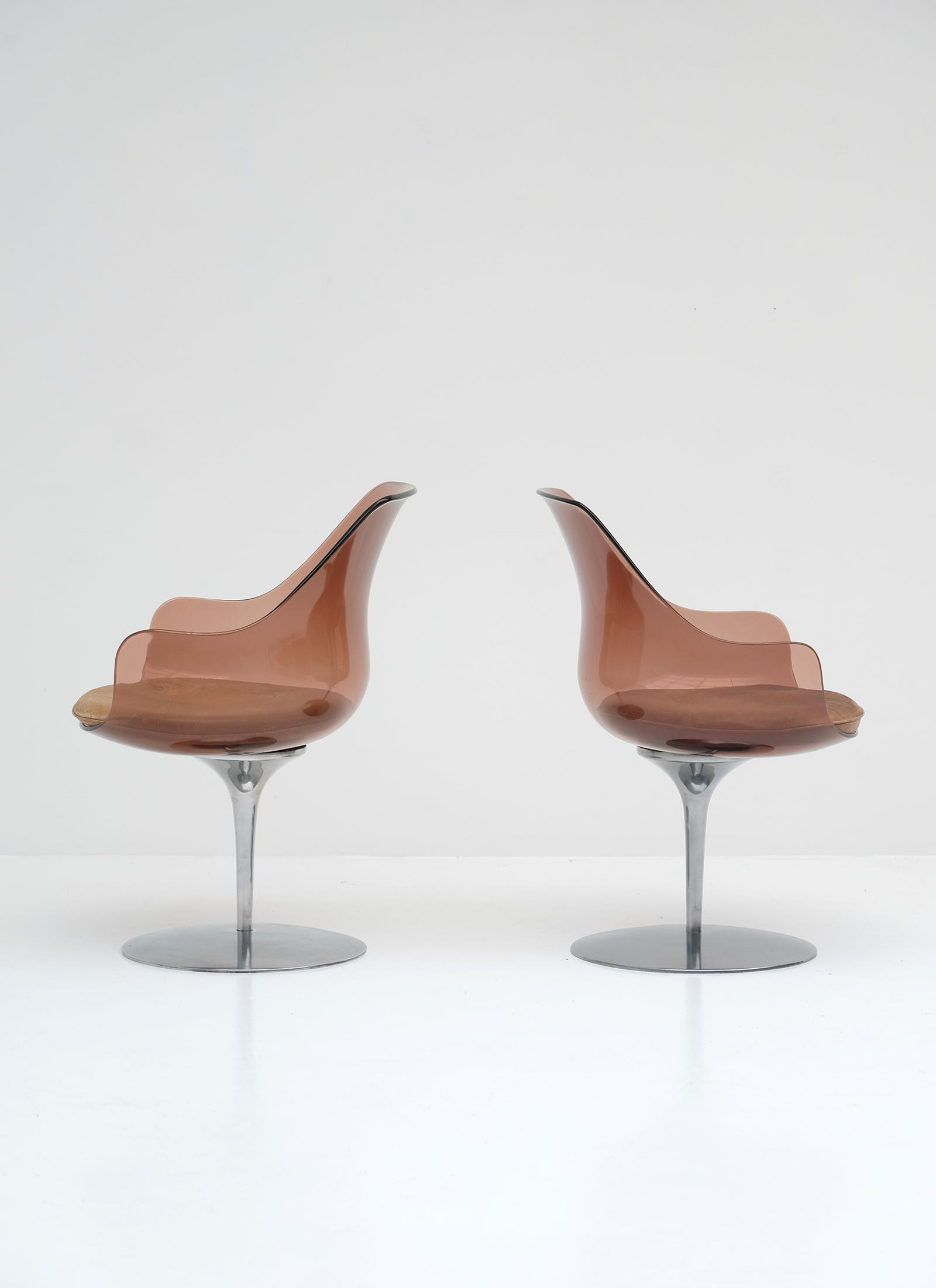 Laverne Champagne Chairs Formes Nouvellesimage 6