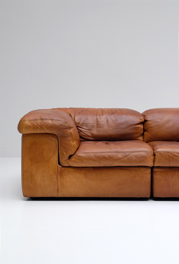 DURLET SECTIONAL SOFA MADE IN BELGIUM