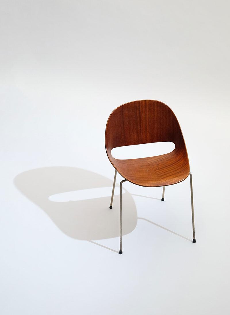 Leon Stynen rare set of 5 chair image 3