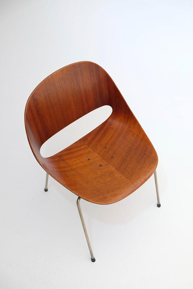 Leon Stynen rare set of 5 chair image 8