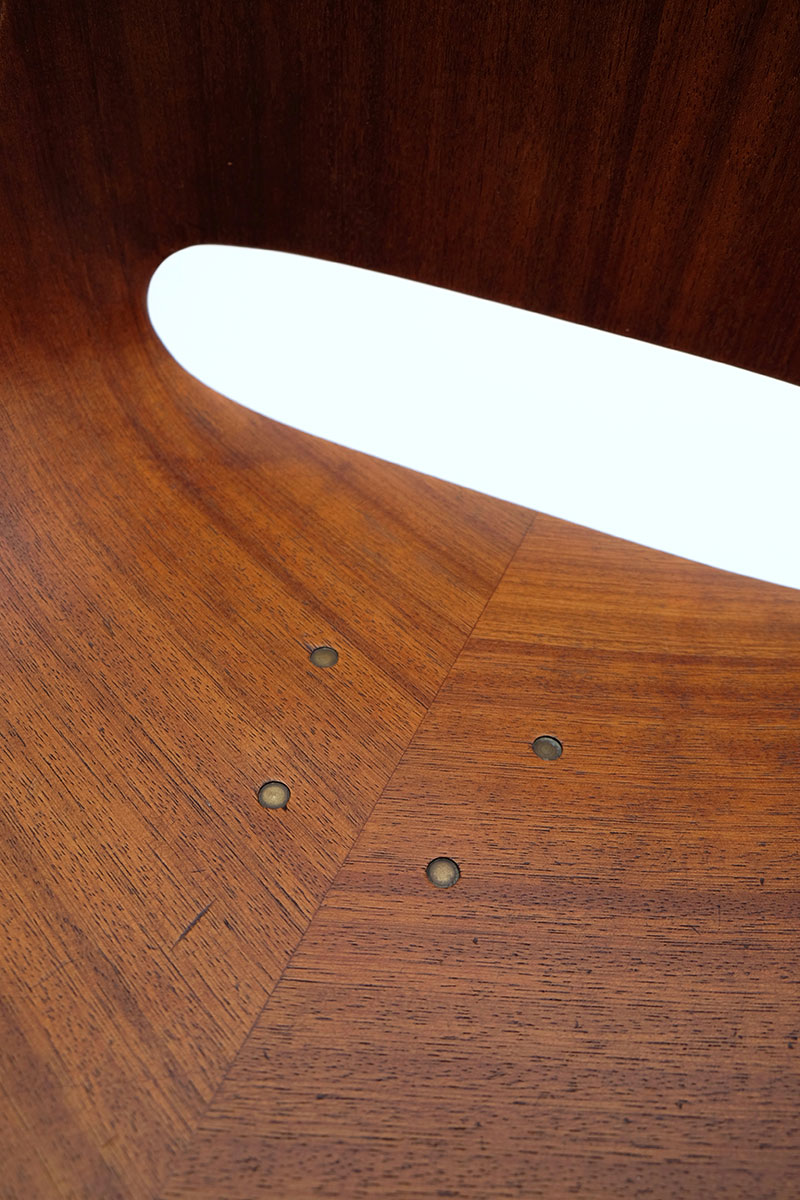 Leon Stynen rare set of 5 chair image 9
