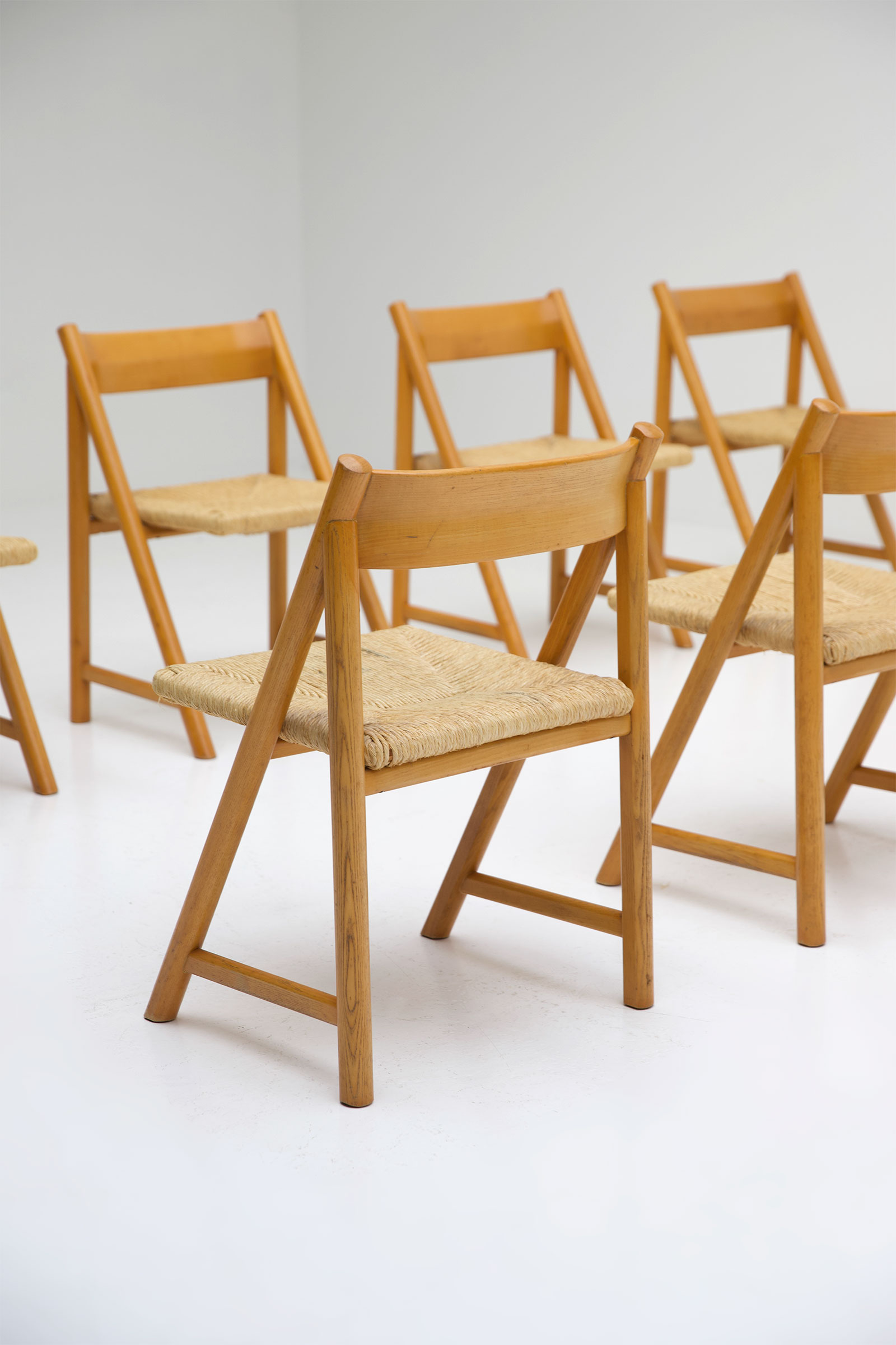 1960s Woven Cane Chairsimage 3