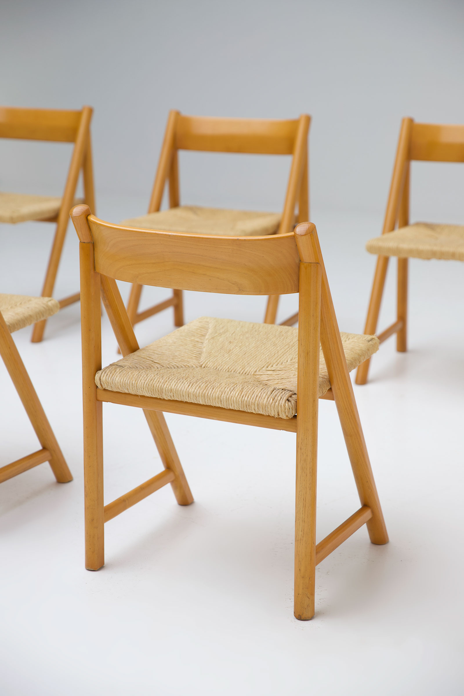 1960s Woven Cane Chairsimage 5