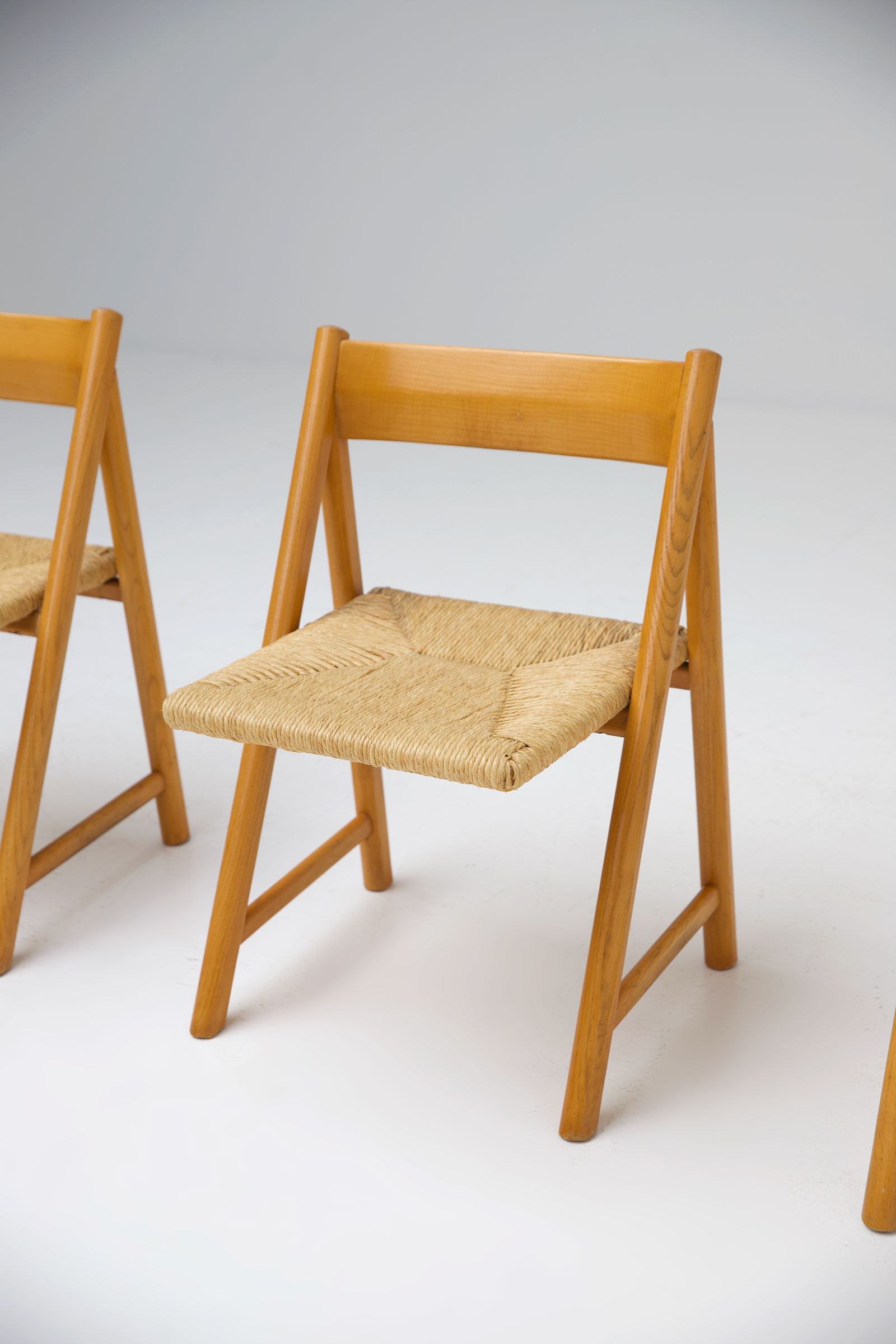 1960s Woven Cane Chairsimage 7