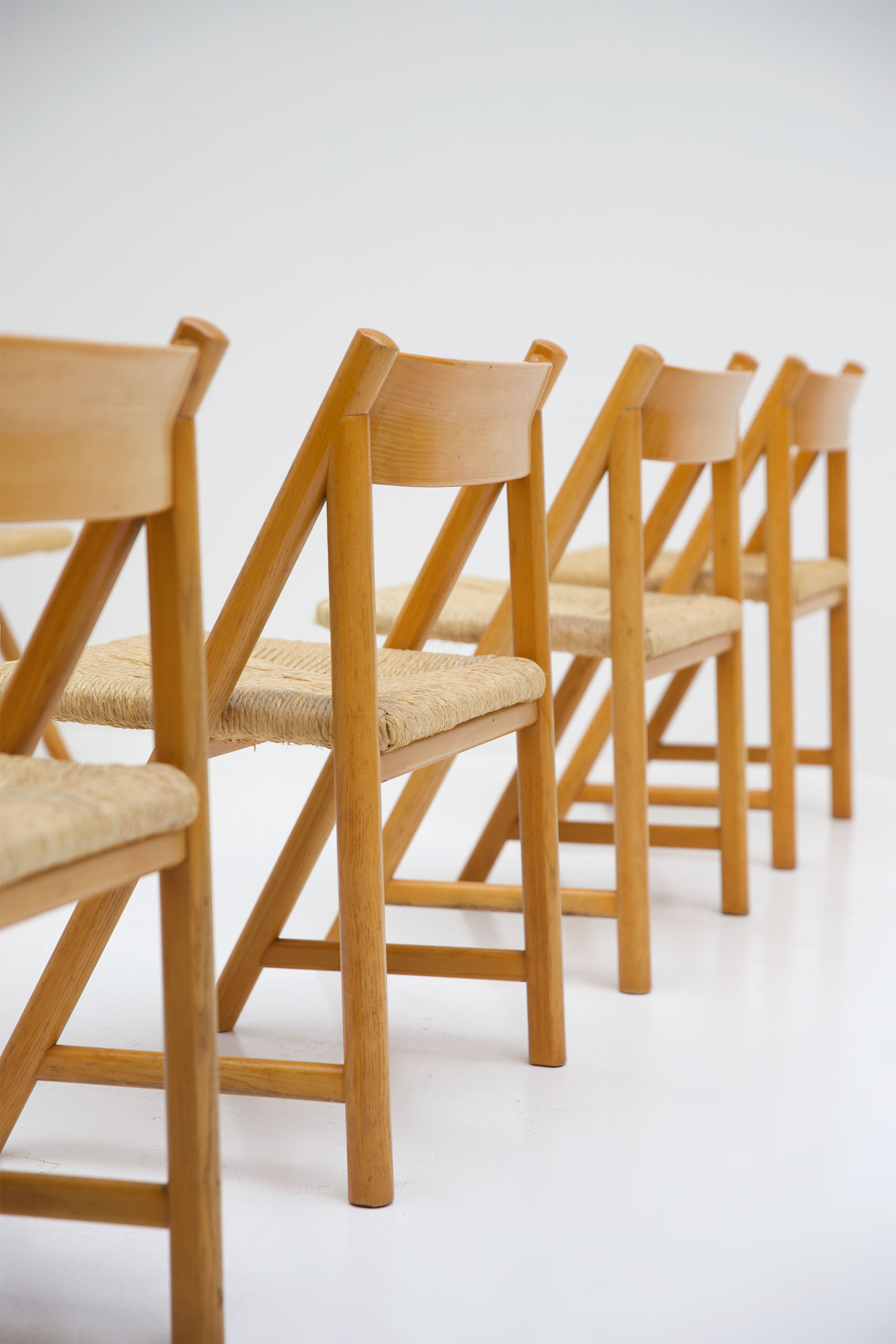 1960s Woven Cane Chairsimage 4