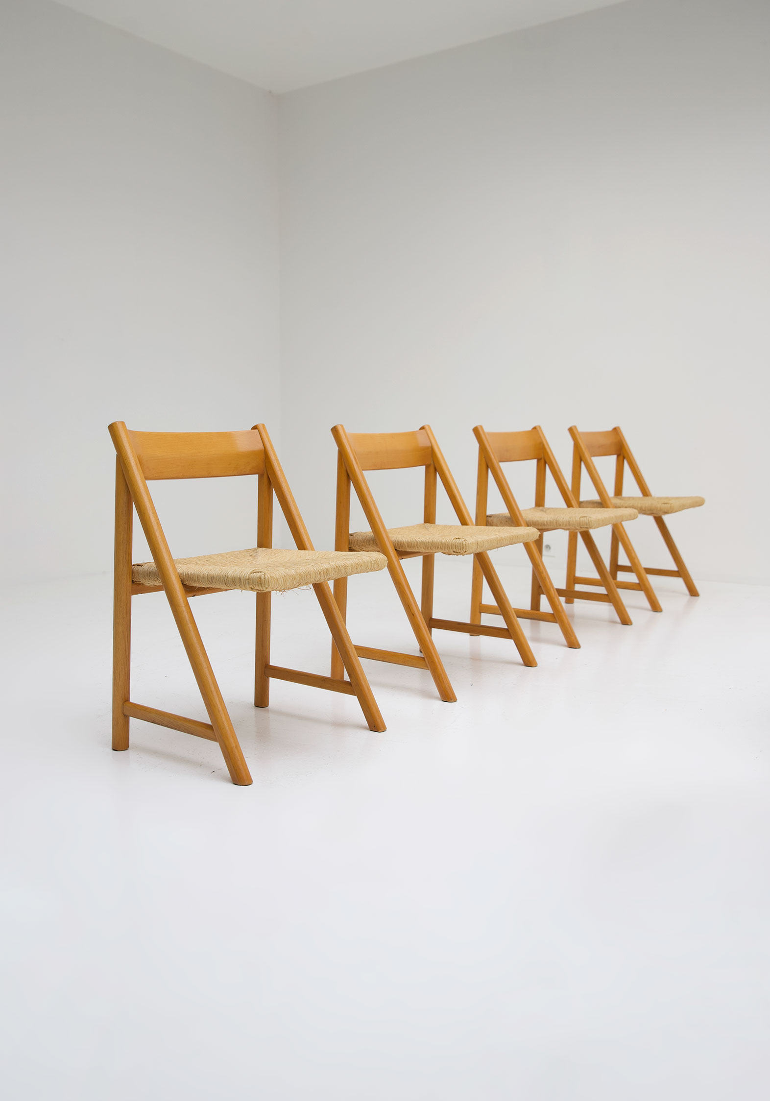 1960s Woven Cane Chairsimage 6