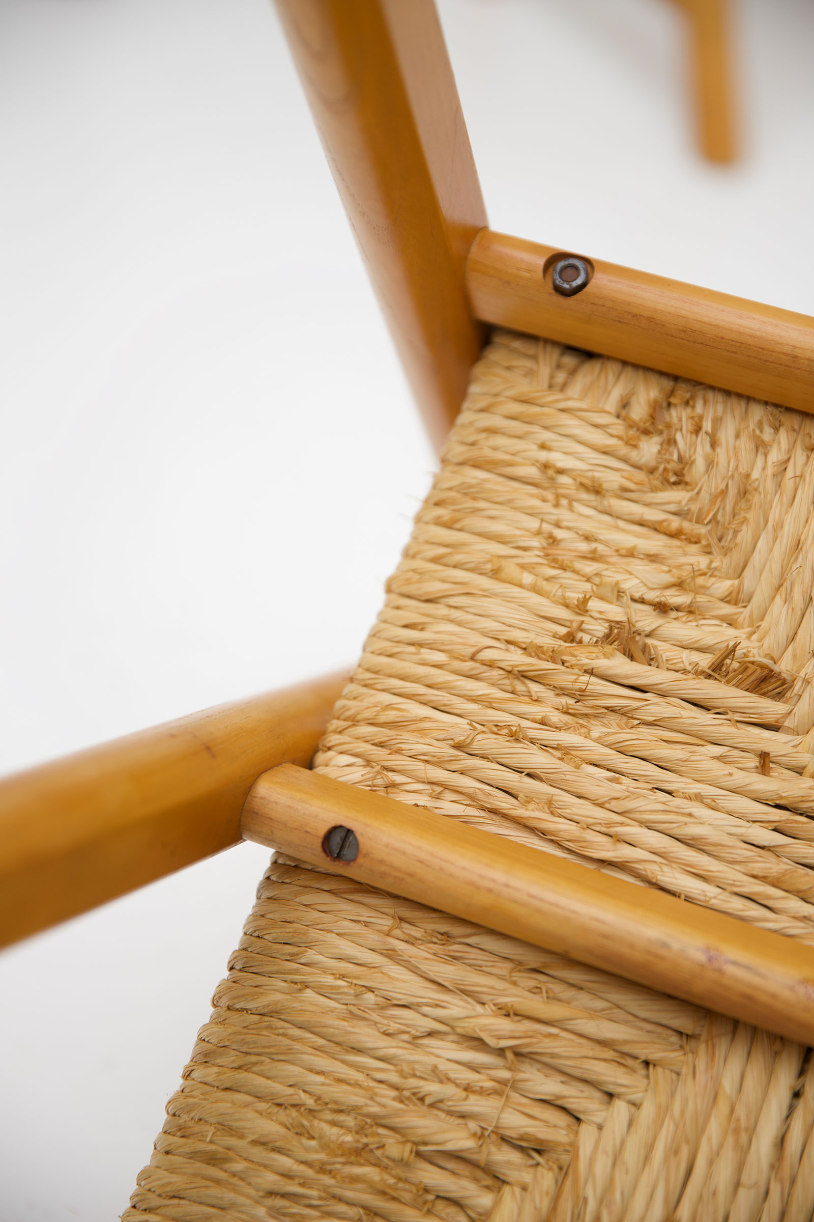 1960s Woven Cane Chairsimage 9