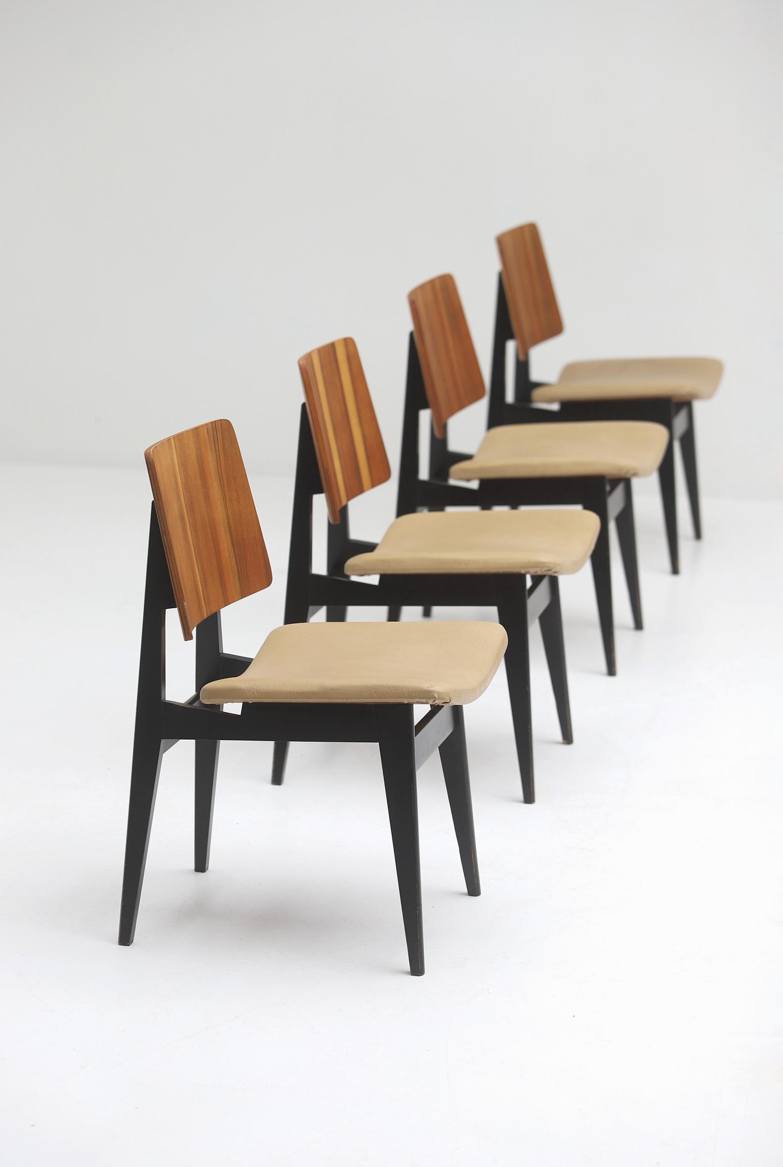 Luxus Jos De Mey Dining Chairsimage 6