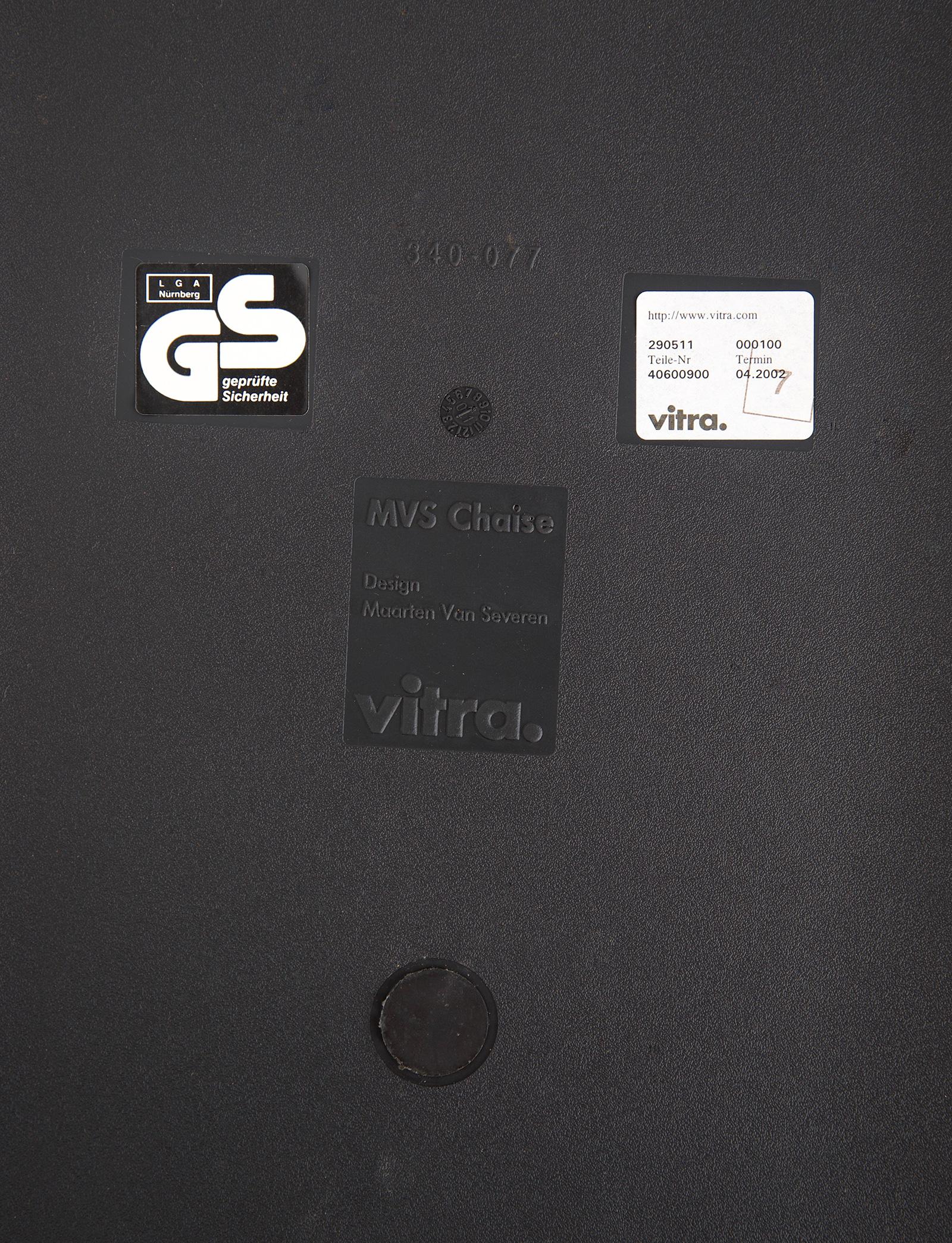 Maarten Van Severen MVS Chaise Vitra 2002image 11