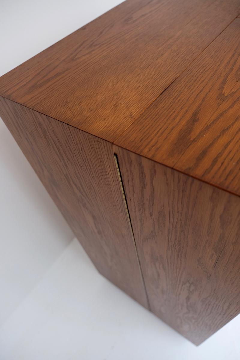 1960s Magic in Box Desk in Teak