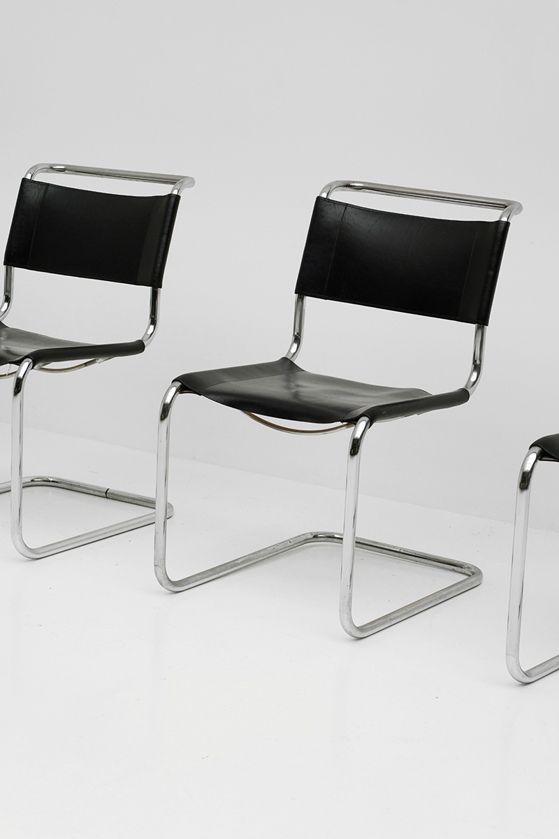 city furniture s 33 chair by mart stam for thonet. Black Bedroom Furniture Sets. Home Design Ideas