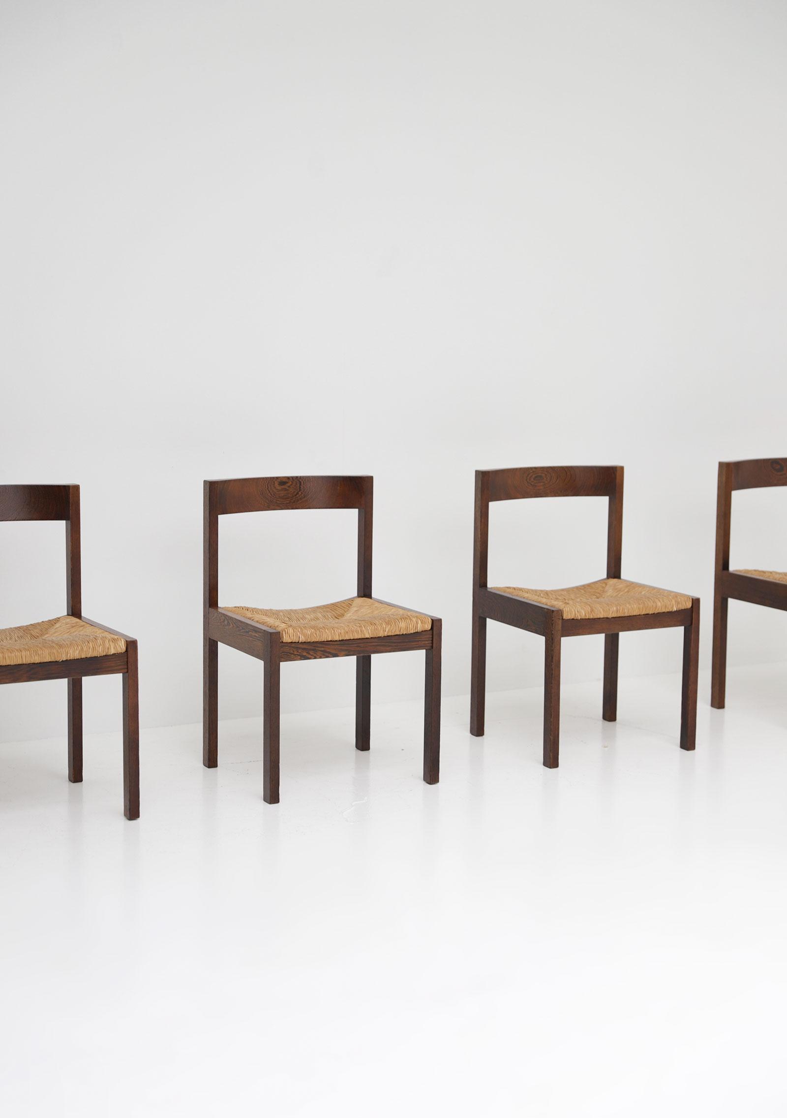 Martin Visser Wenge Dining Chairs