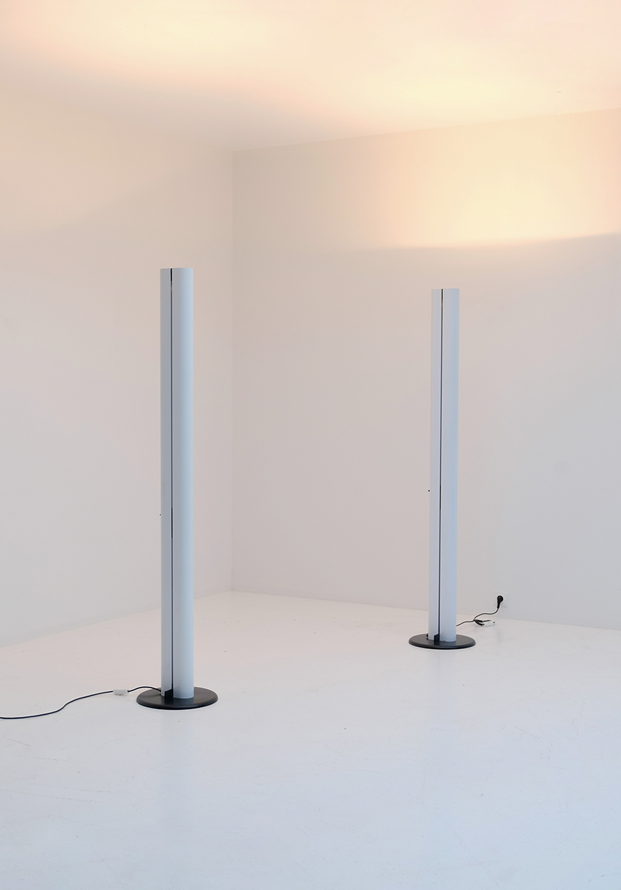 ARTEMIDE MEGARON FLOOR LAMP BY GIANFRANCO FRATTINIimage 1