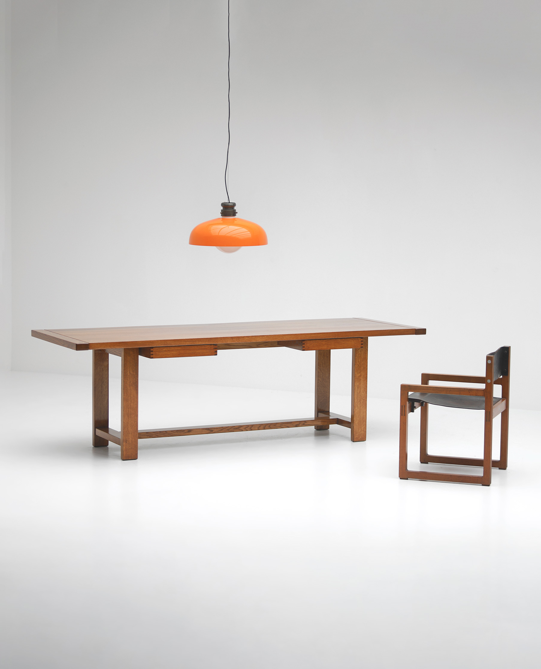 Oak Dining Table image 1