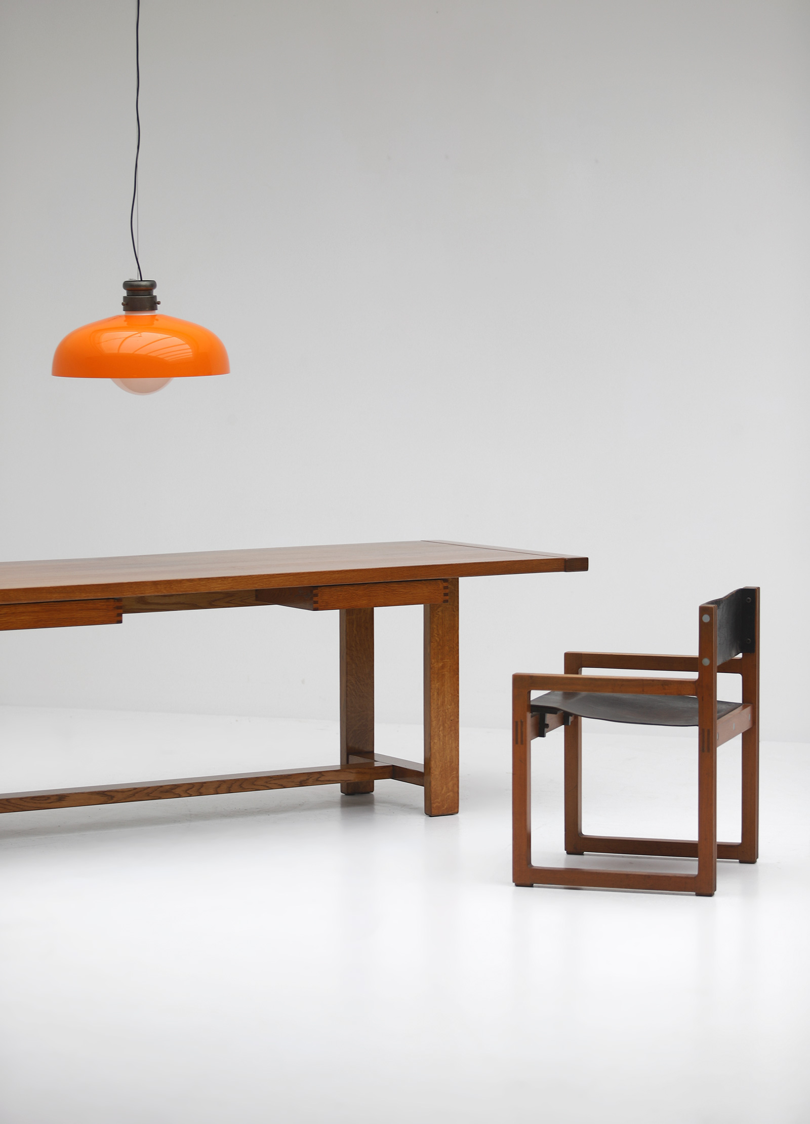 Oak Dining Table image 2