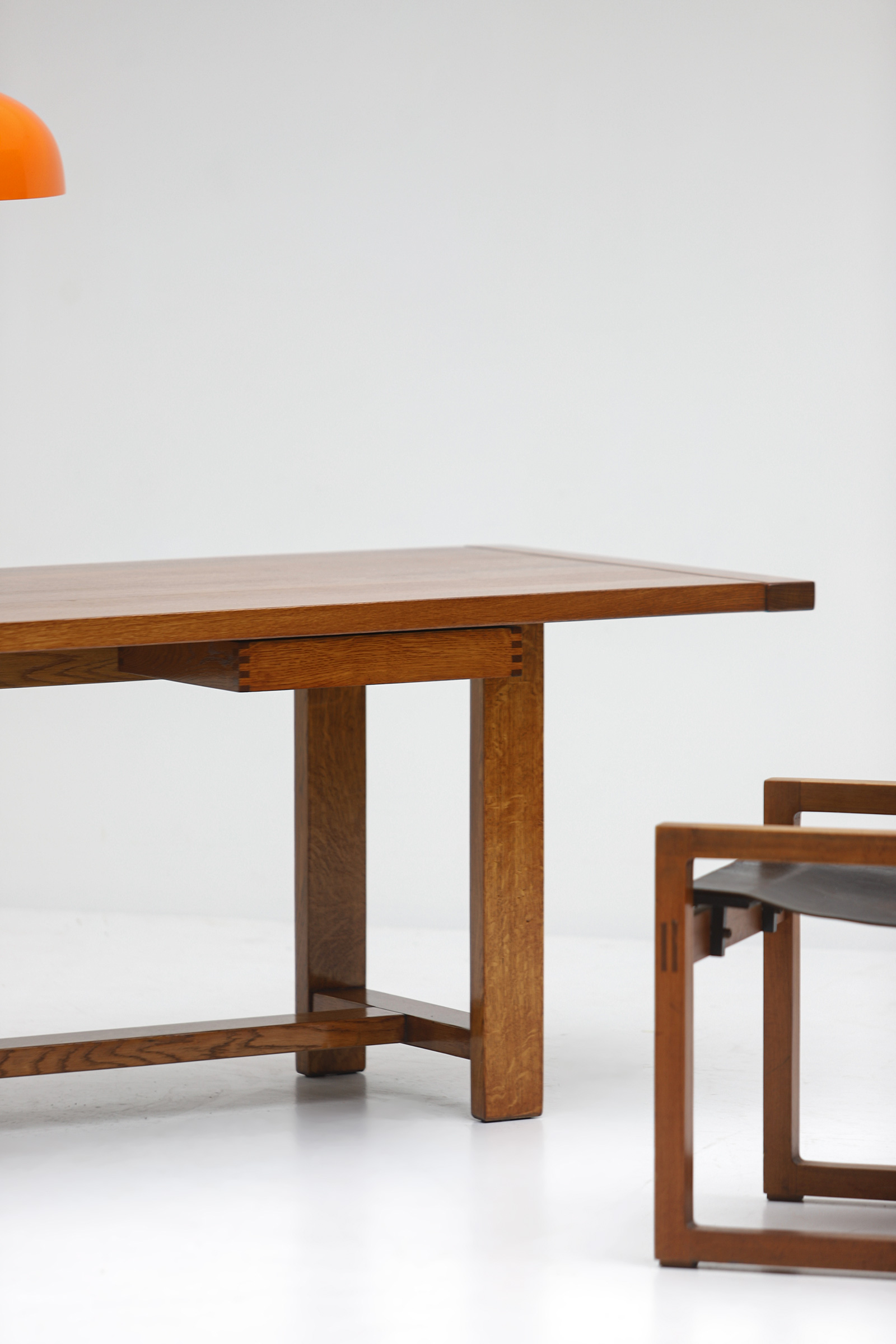 Oak Dining Table image 3
