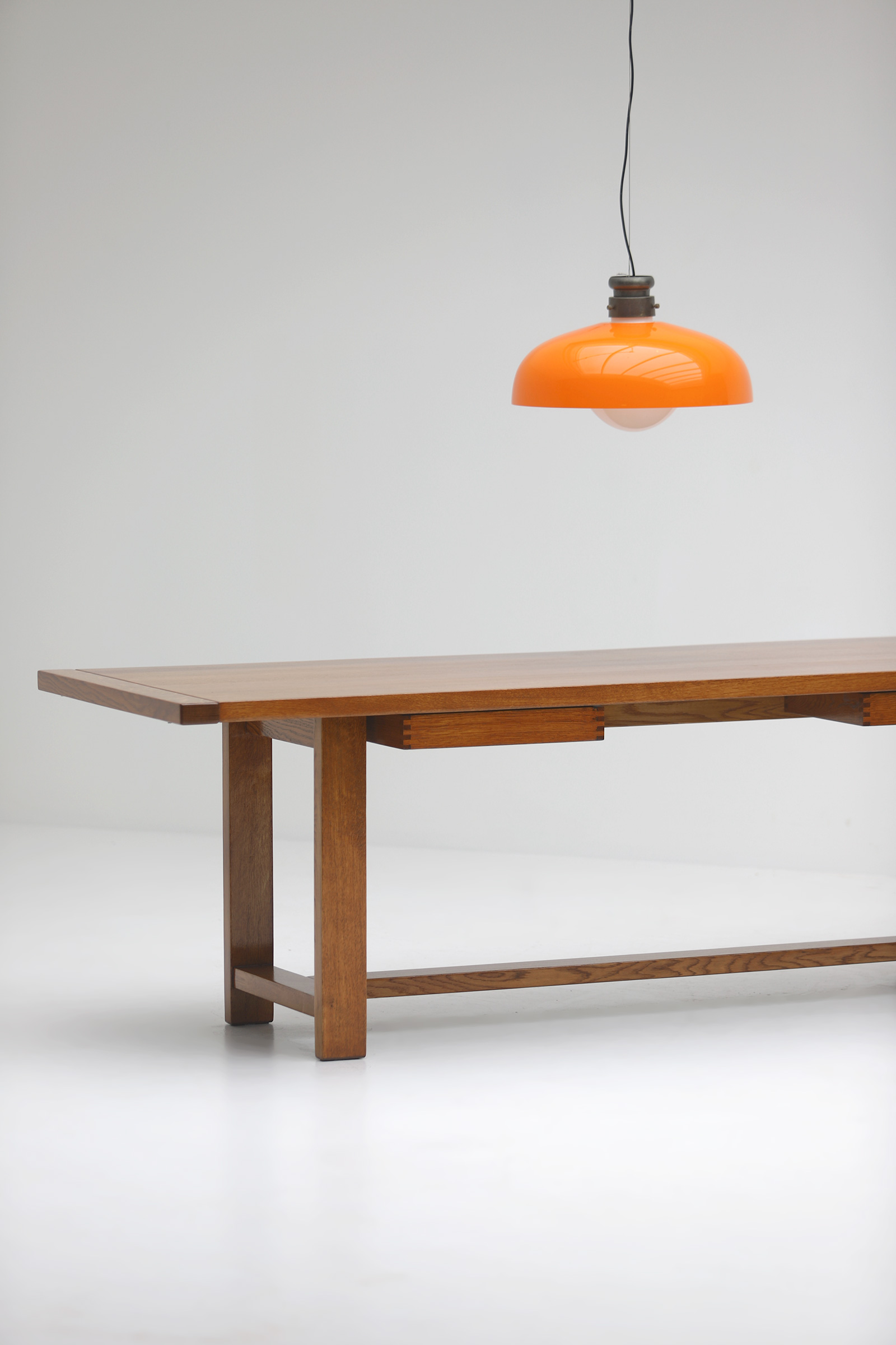 Oak Dining Table image 4
