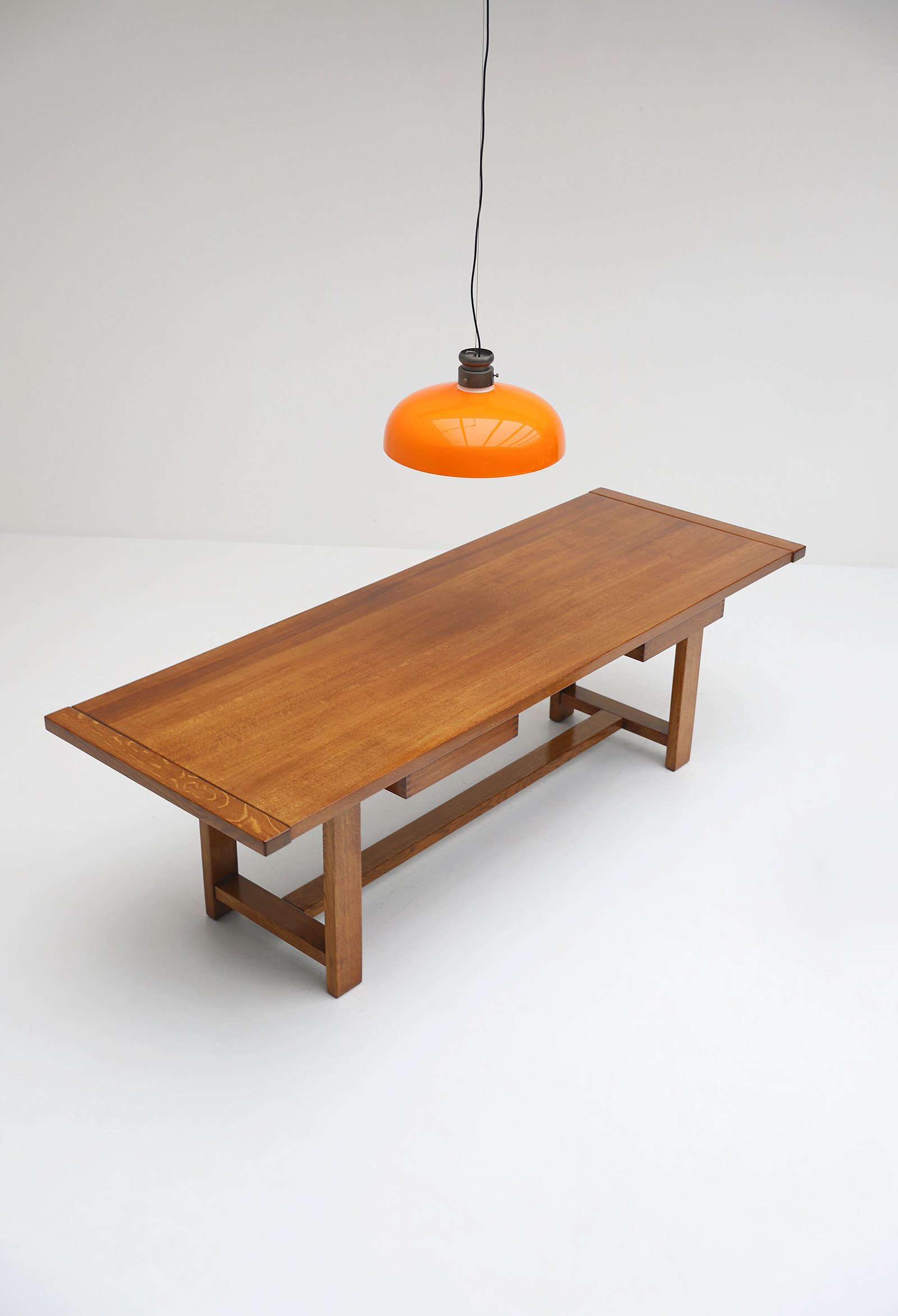 Oak Dining Table image 15