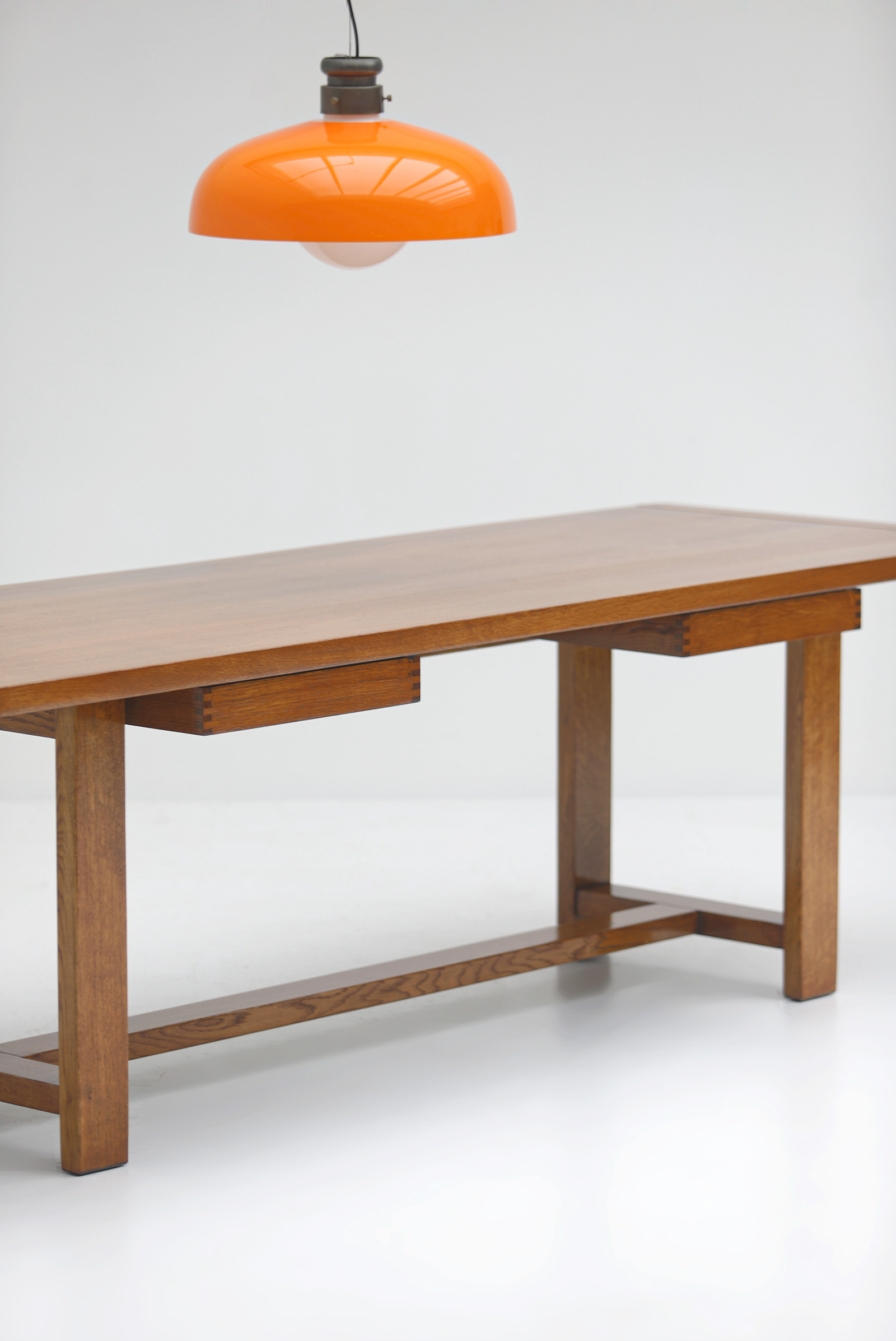 Oak Dining Table image 5